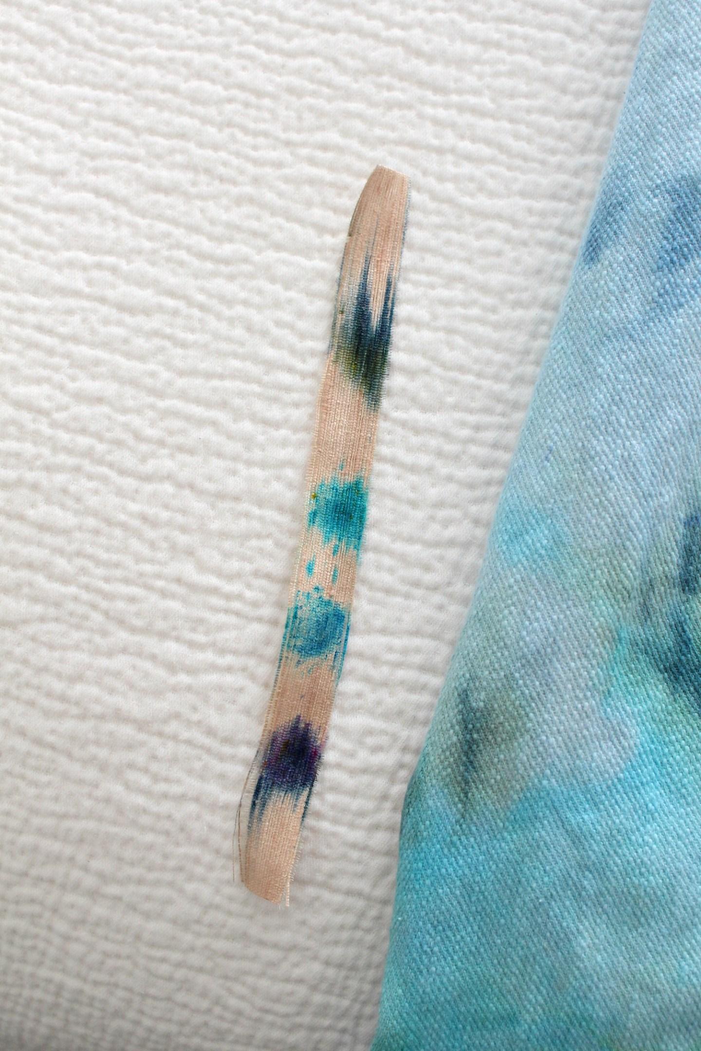 Procion Dyes on Silk