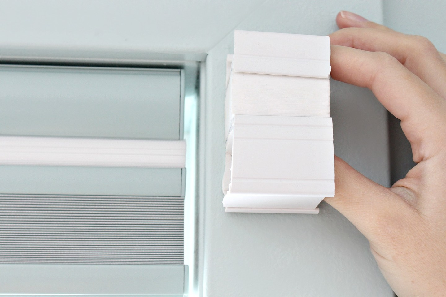 Our Custom Window Shades vs Cheap Window Shades | Review + Shopping Process. Home Decorator's Collection Cordless Cellular Shades