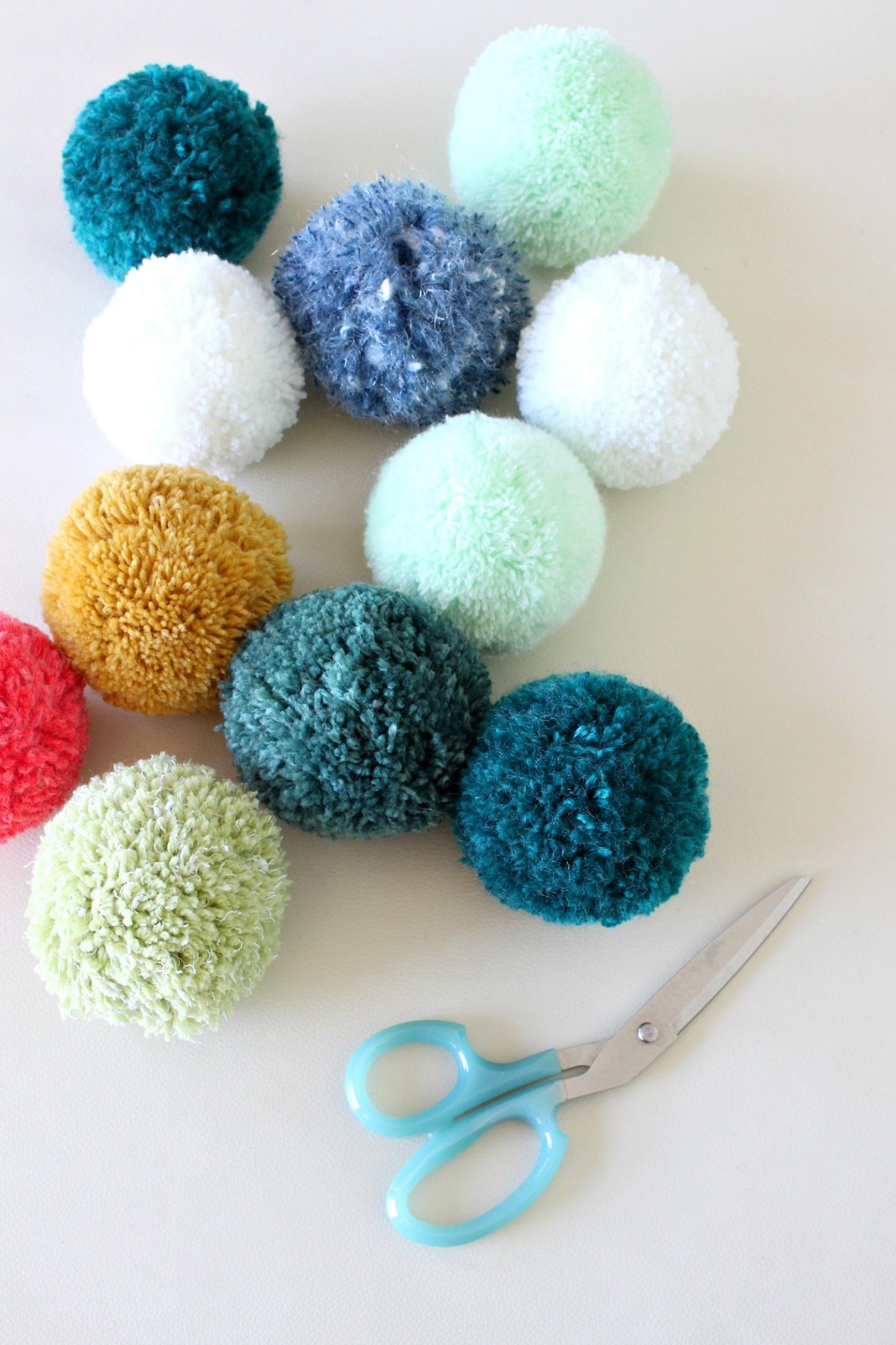 pom pom crafts for kids