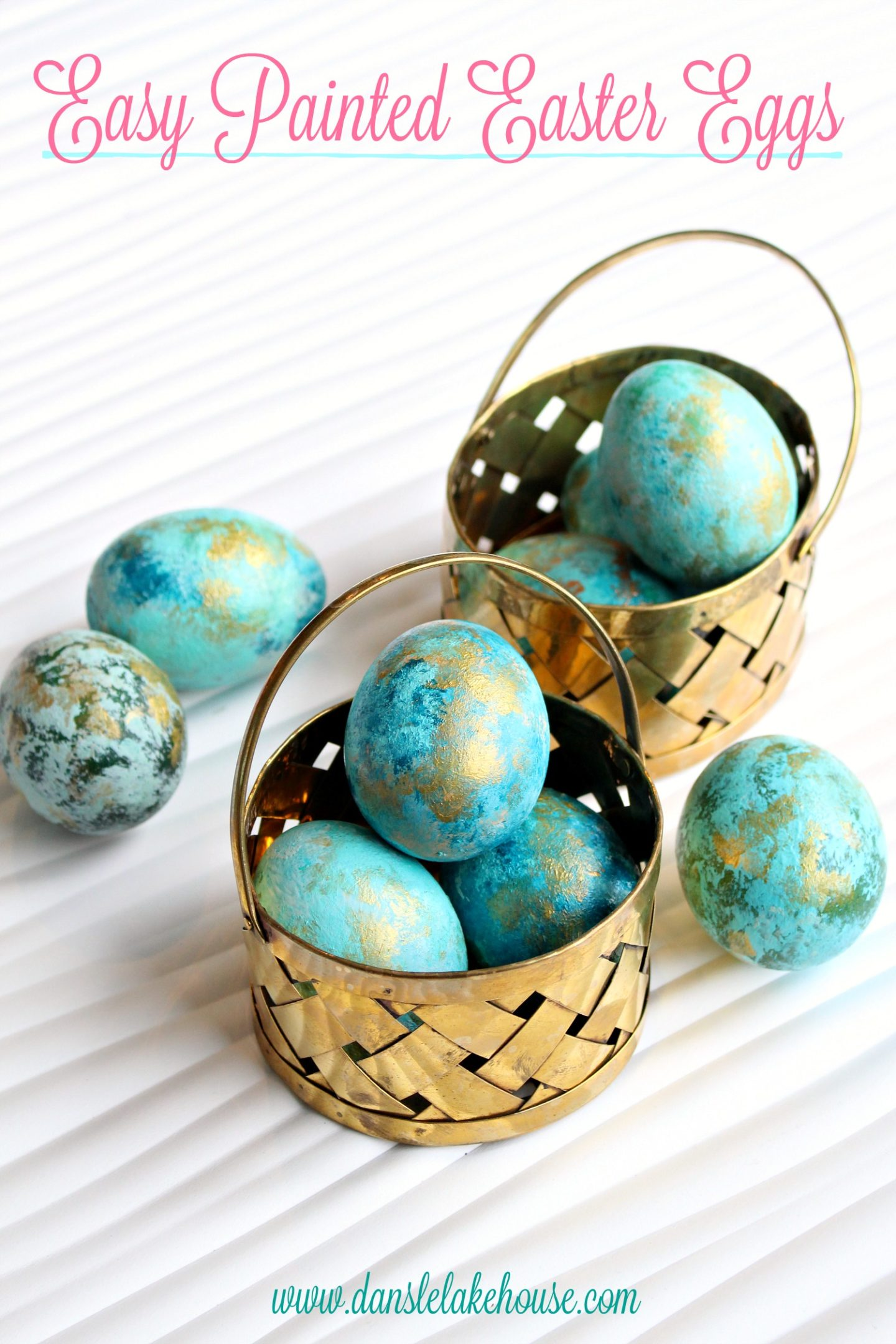 Abstract Painted Easter Eggs | Creative Egg Decorating