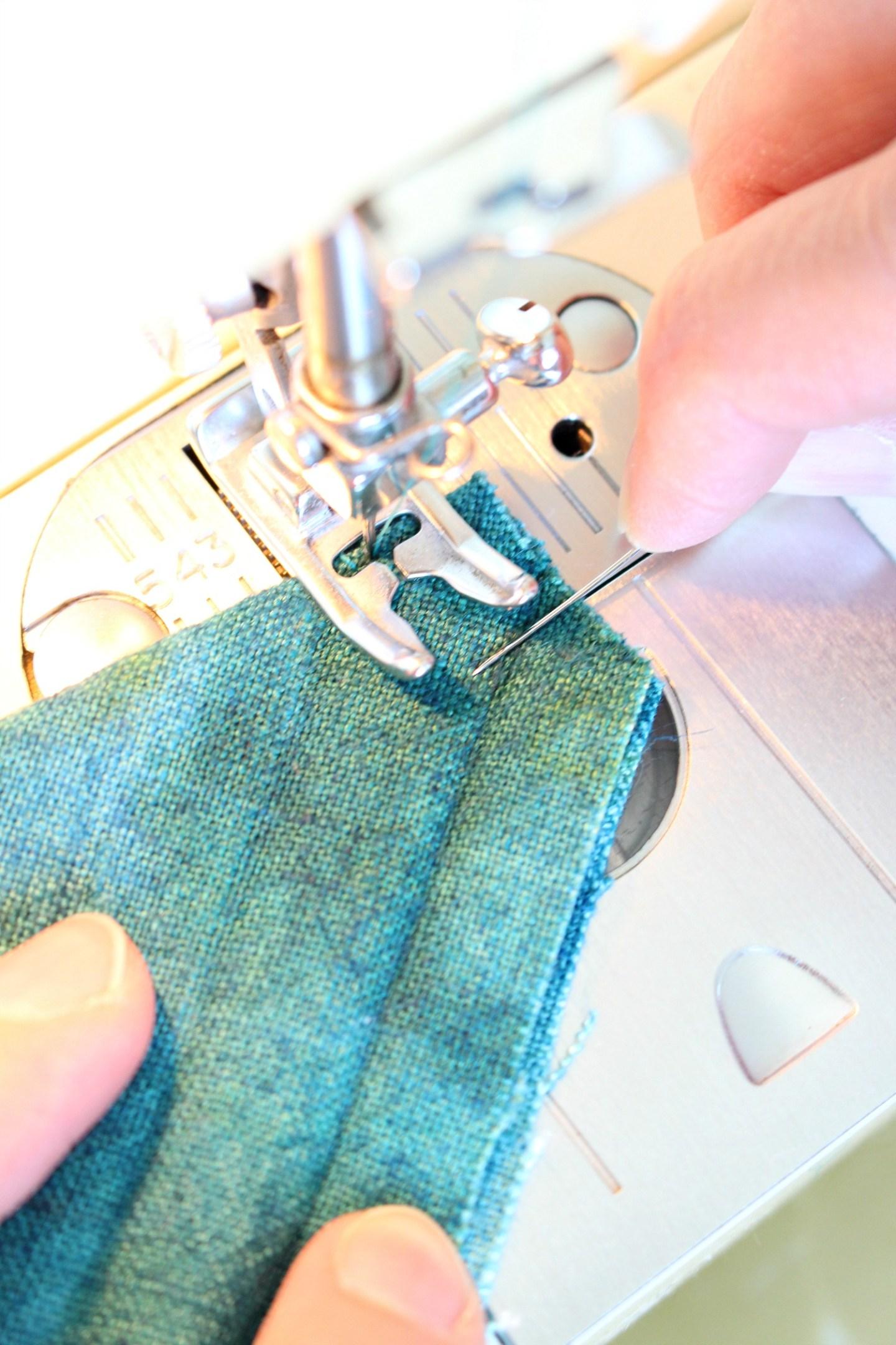 Sewing a Mitered Corner