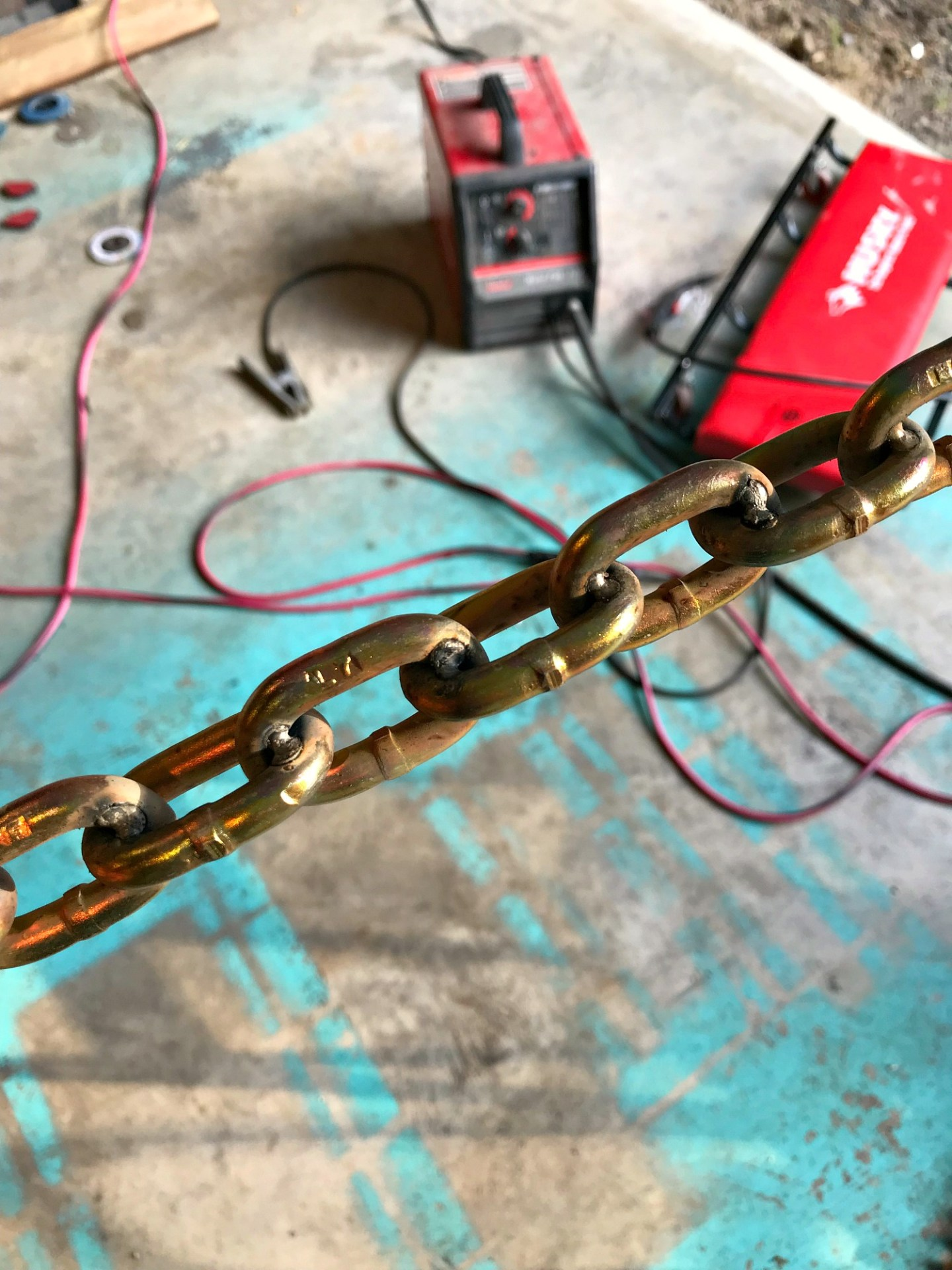 How to Weld Chain | DIY Welded Chain Table Legs