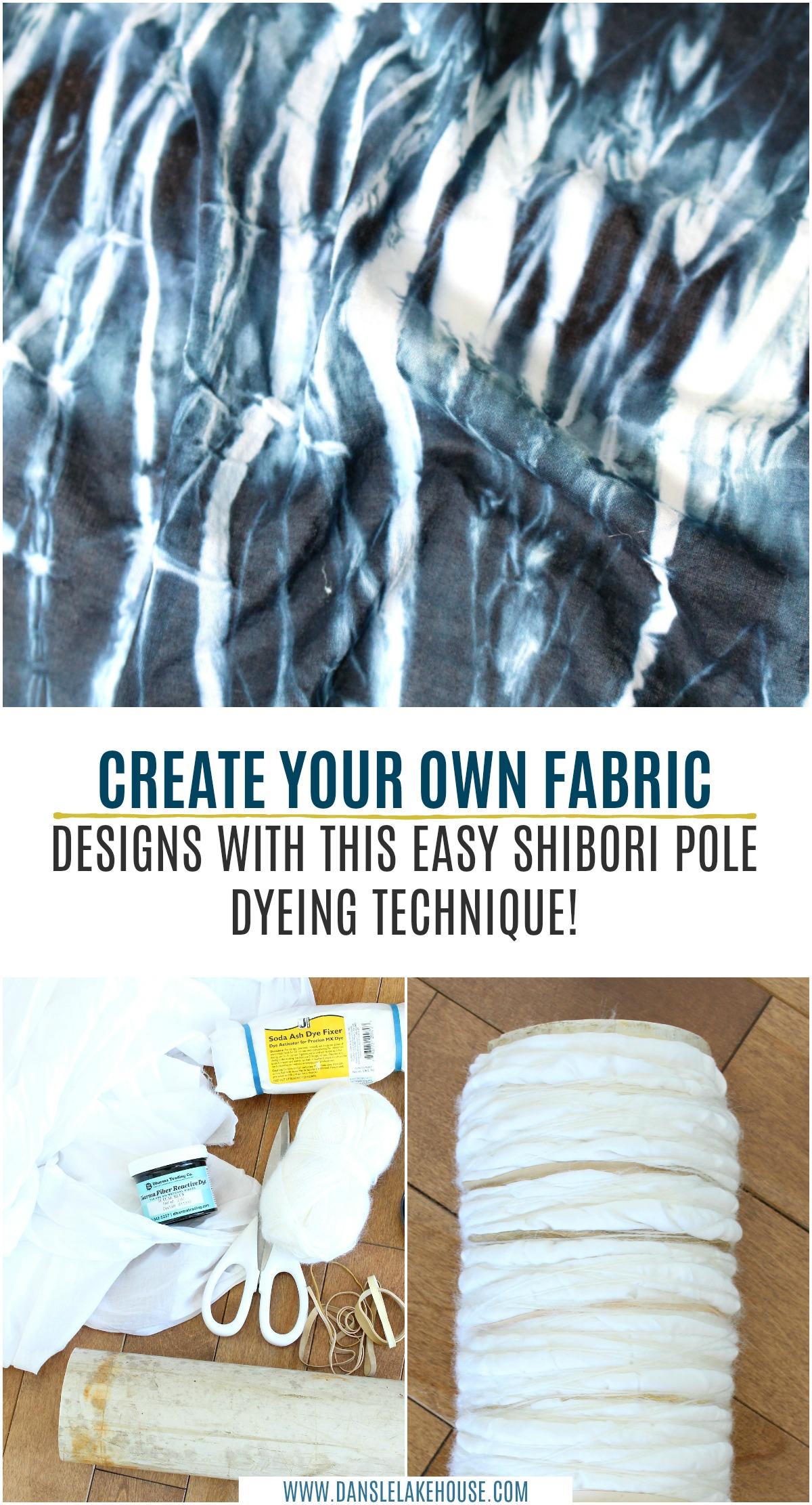 DIY Shibori Technique