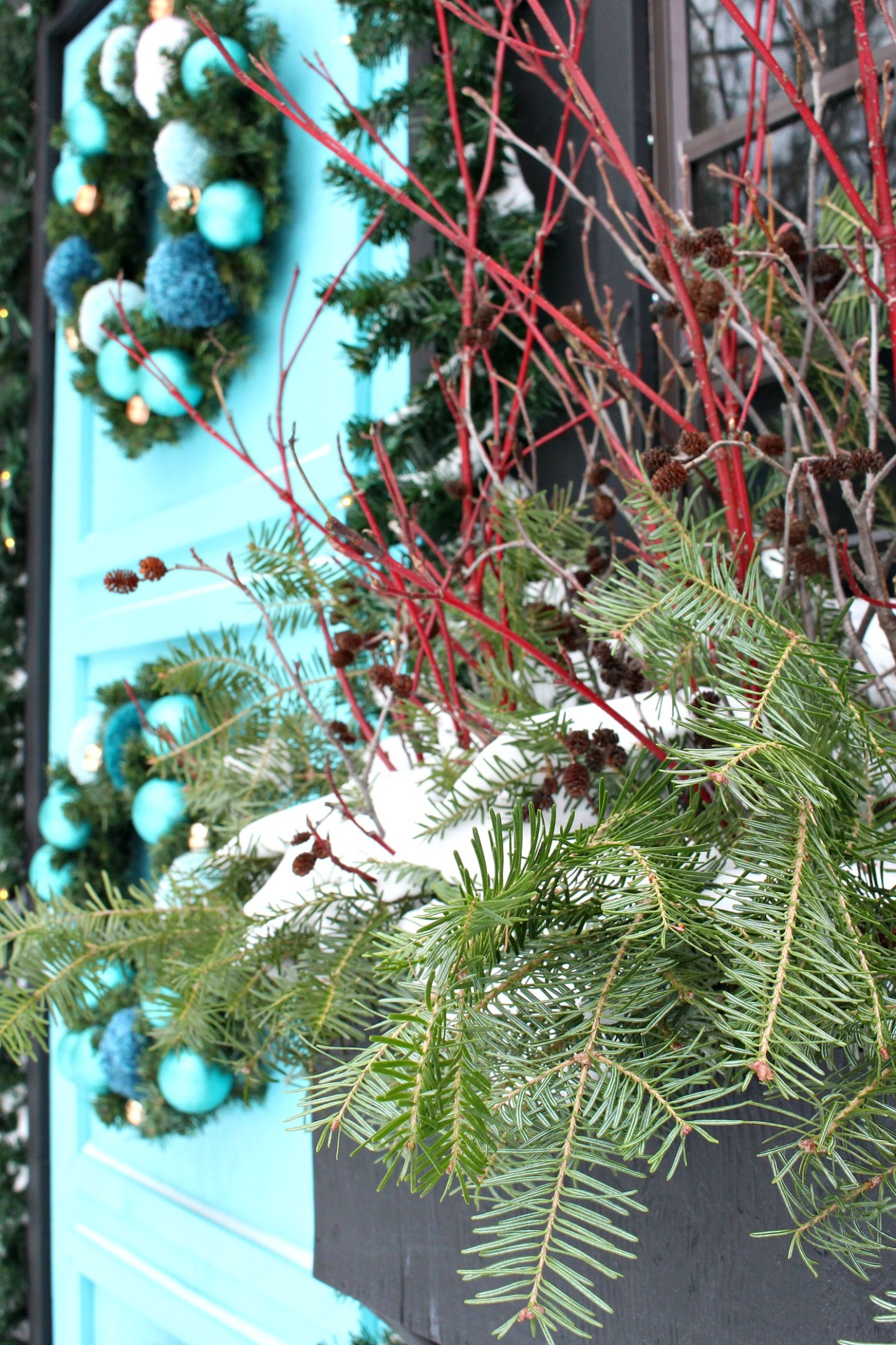 How to Make a Winter Window Box Outdoors