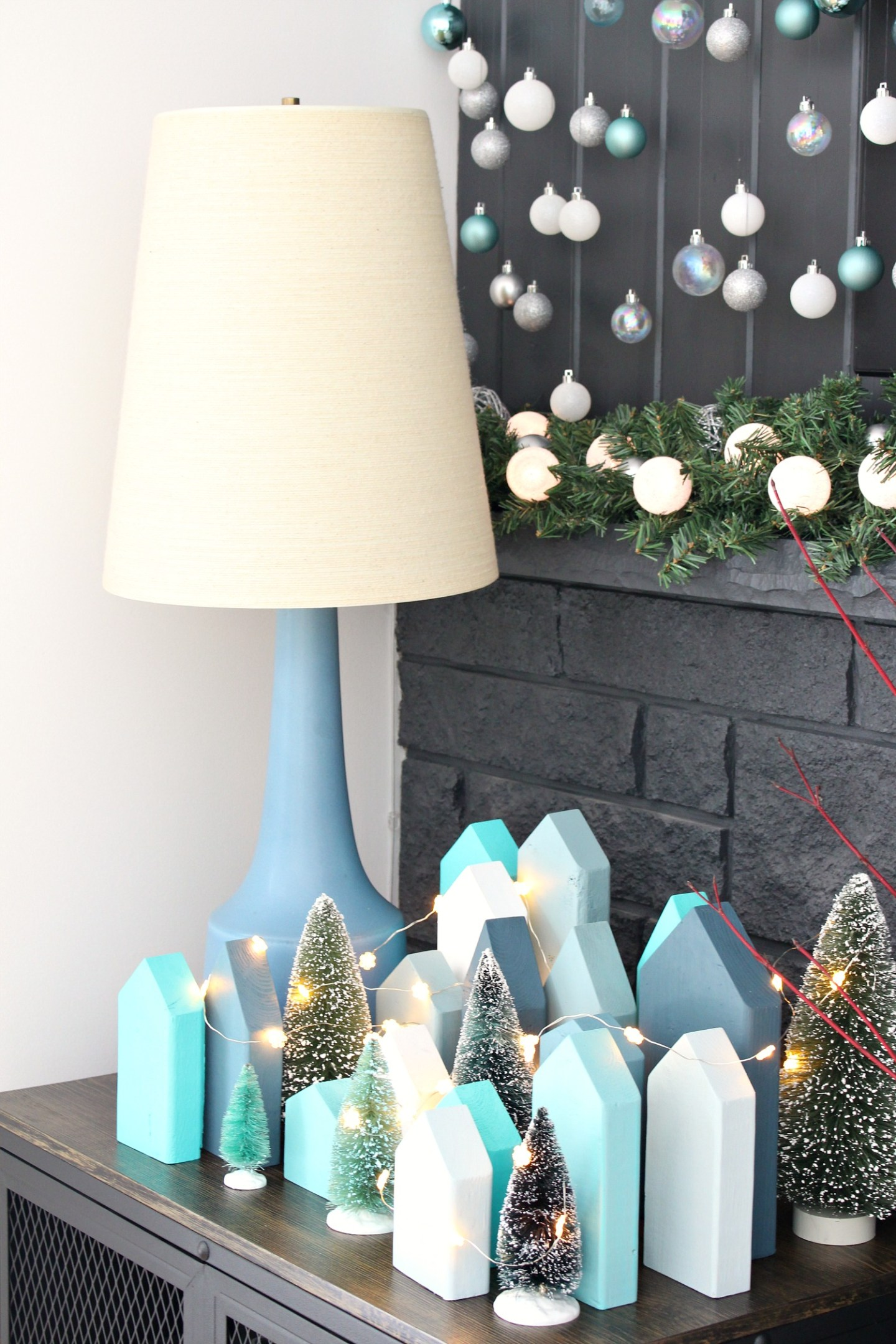 DIY Holiday Village Tutorial