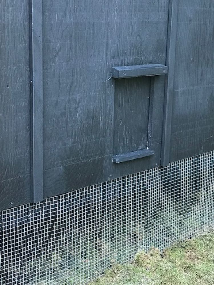 DIY Coop Door Idea