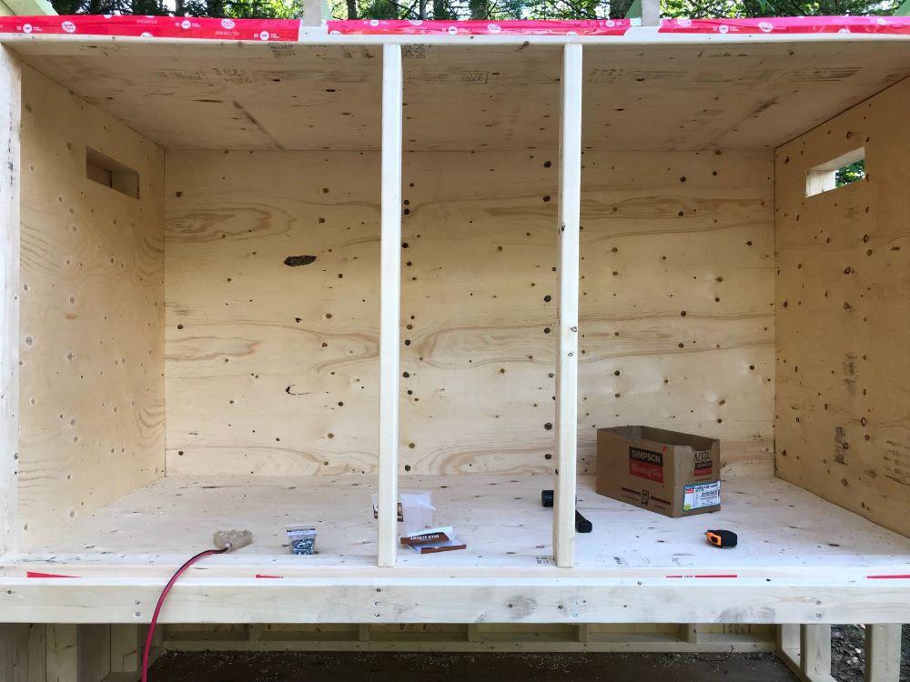 Simple Easy Chicken Coop Build