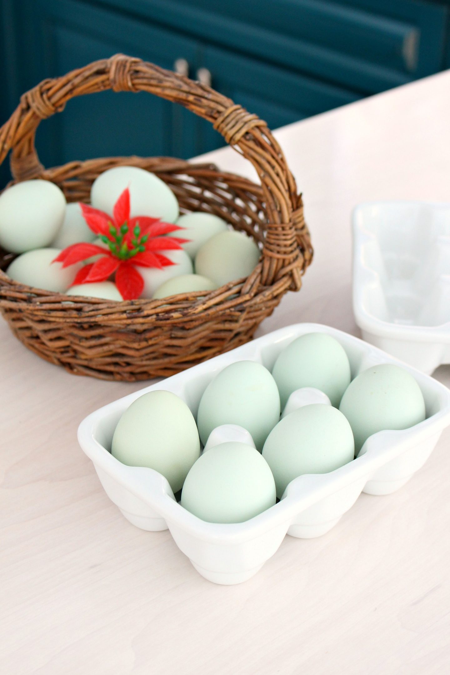 Holiday Baking Aqua Eggs