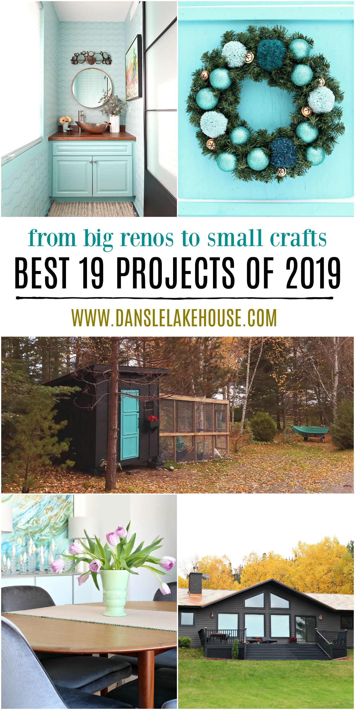 Best 19 Posts of 2019, from DIY and Home Decor Blog: Dans le Lakehouse