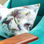 How To Sew A Lumbar Pillow Purple Ice Dye Fabric Dans Le Lakehouse