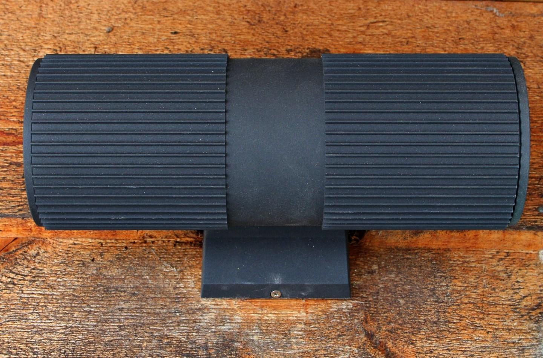 Modern Black Exterior Light