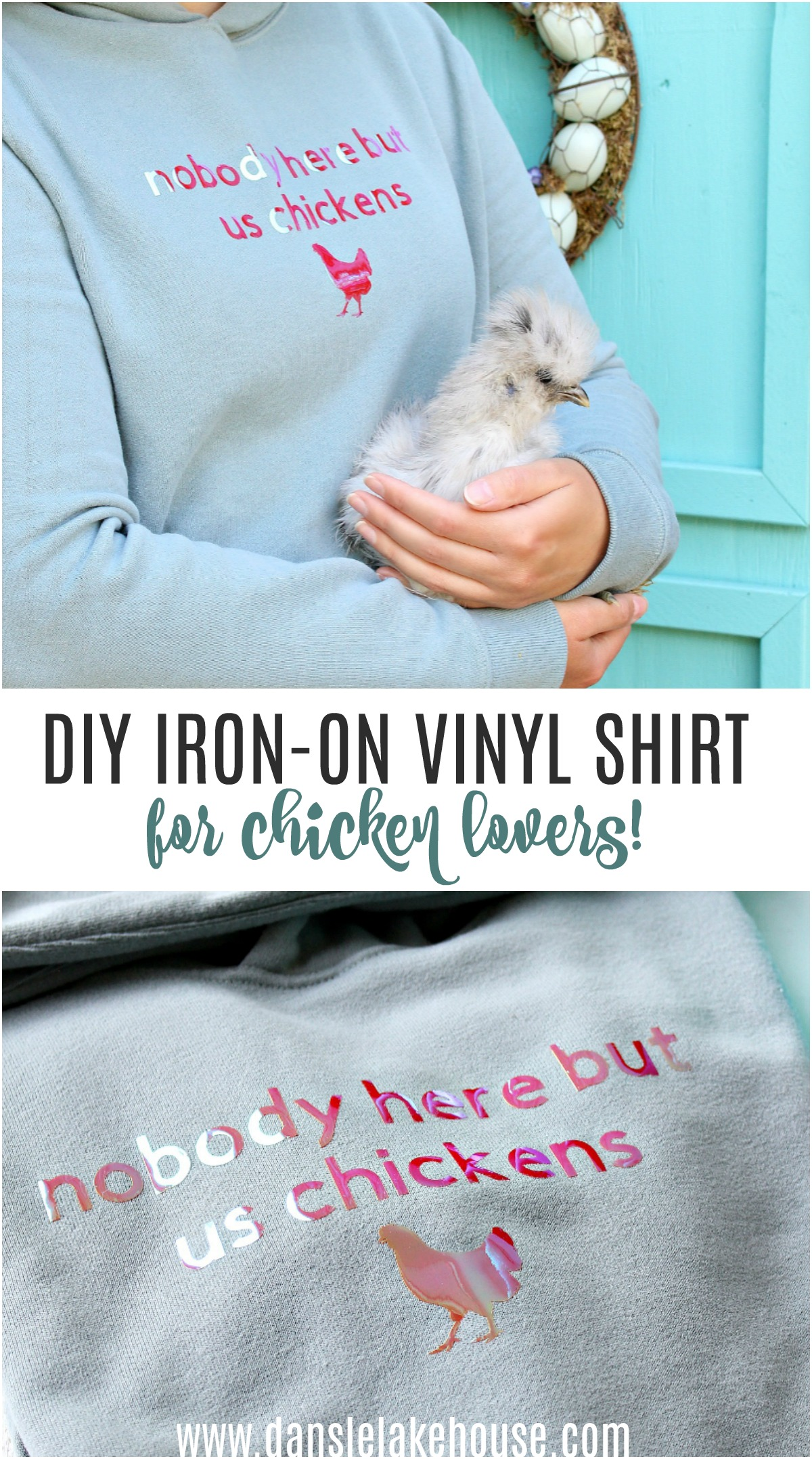 DIY shirt for chicken people