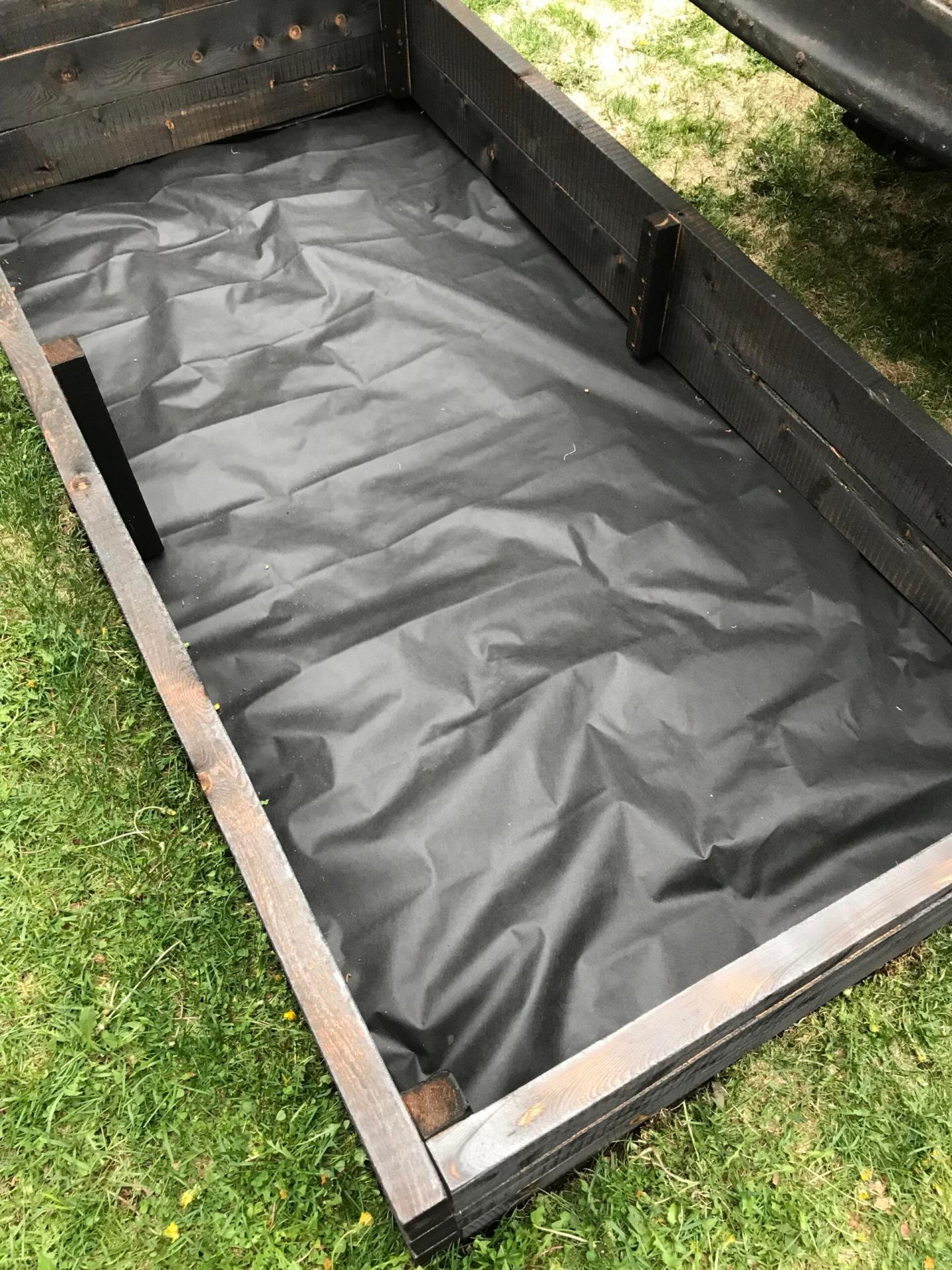 Landscape Cloth Under Garden Beds