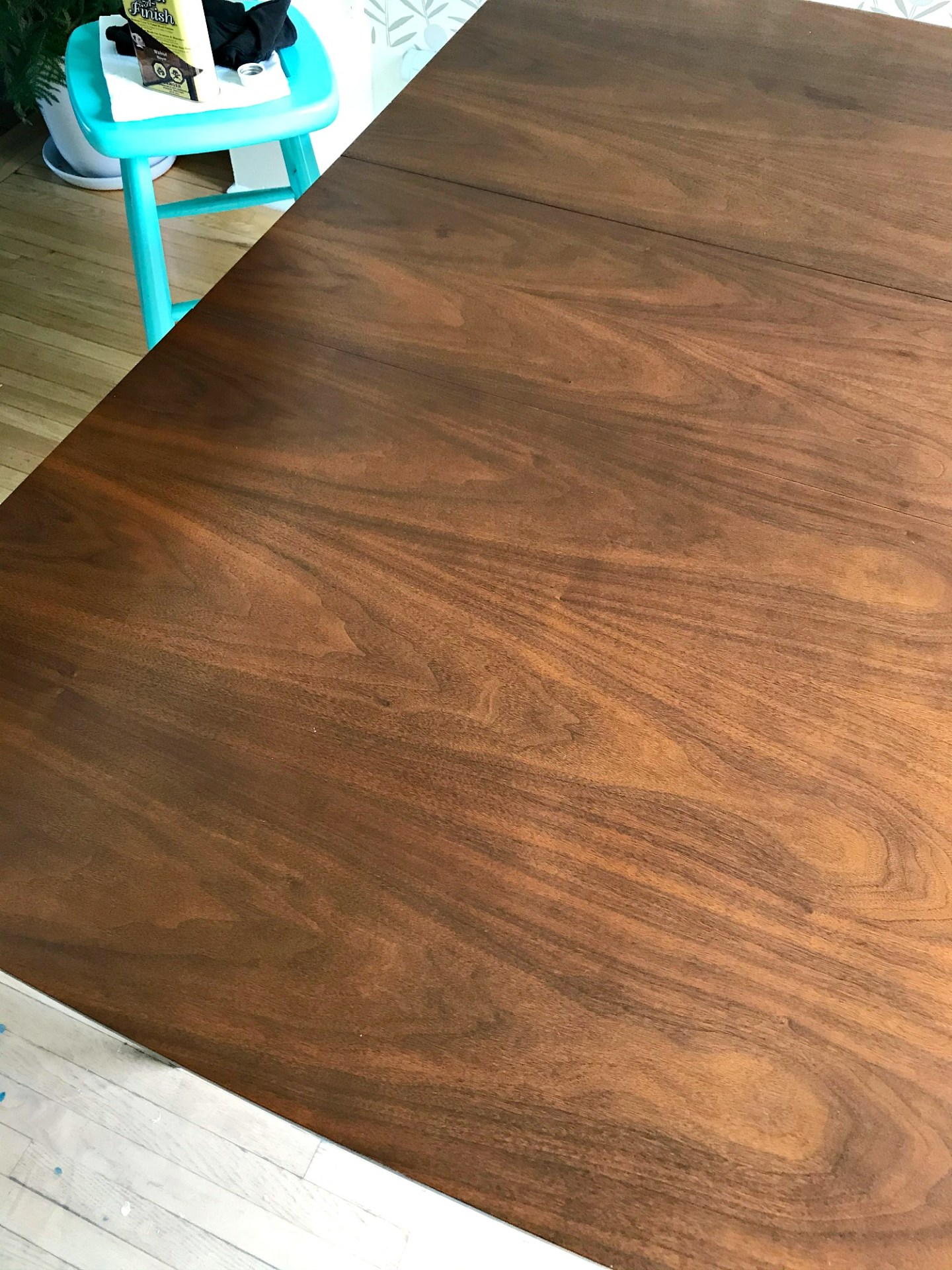 Restore wood furniture without stripping or sanding