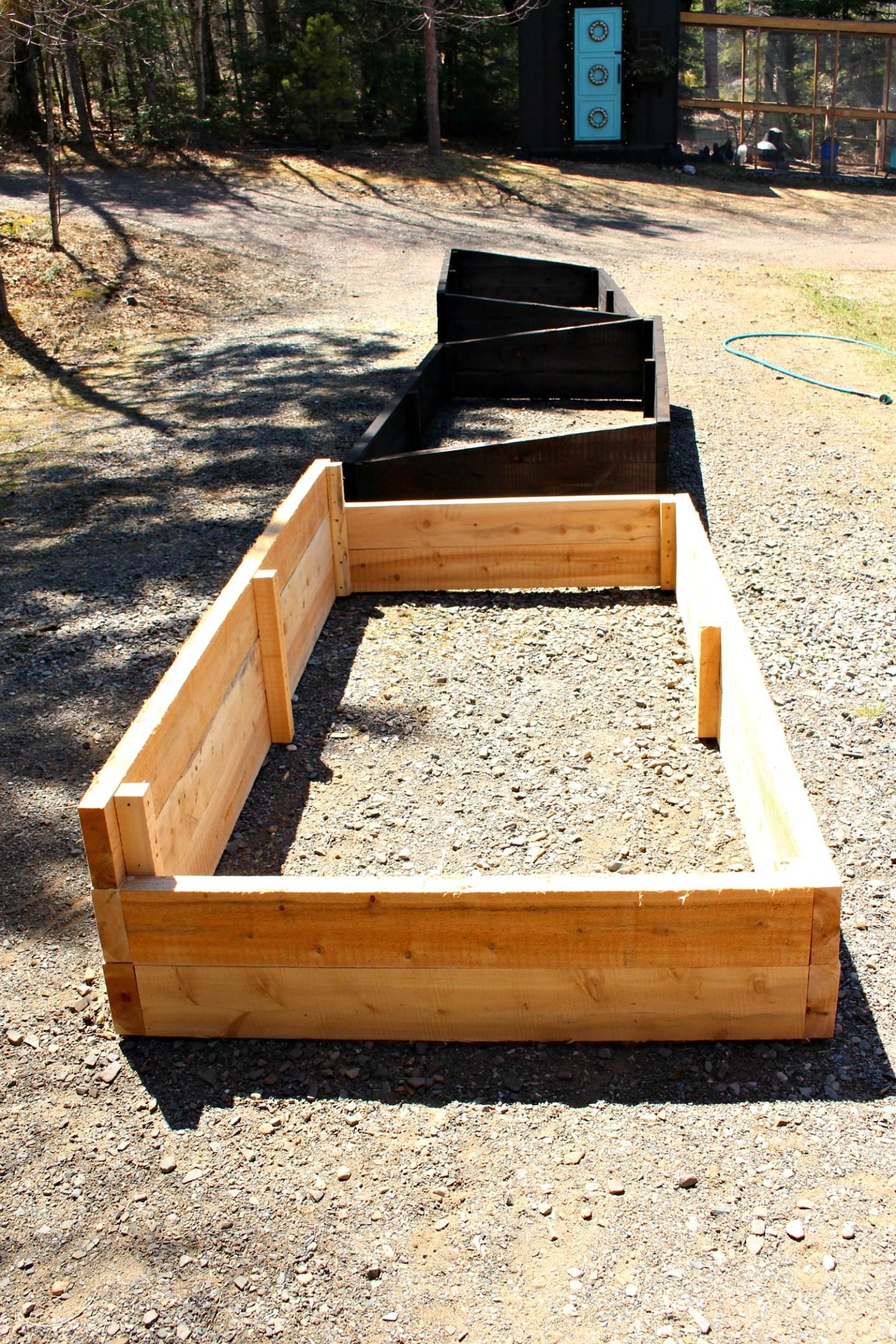 DIY Garden Bed Tutorial