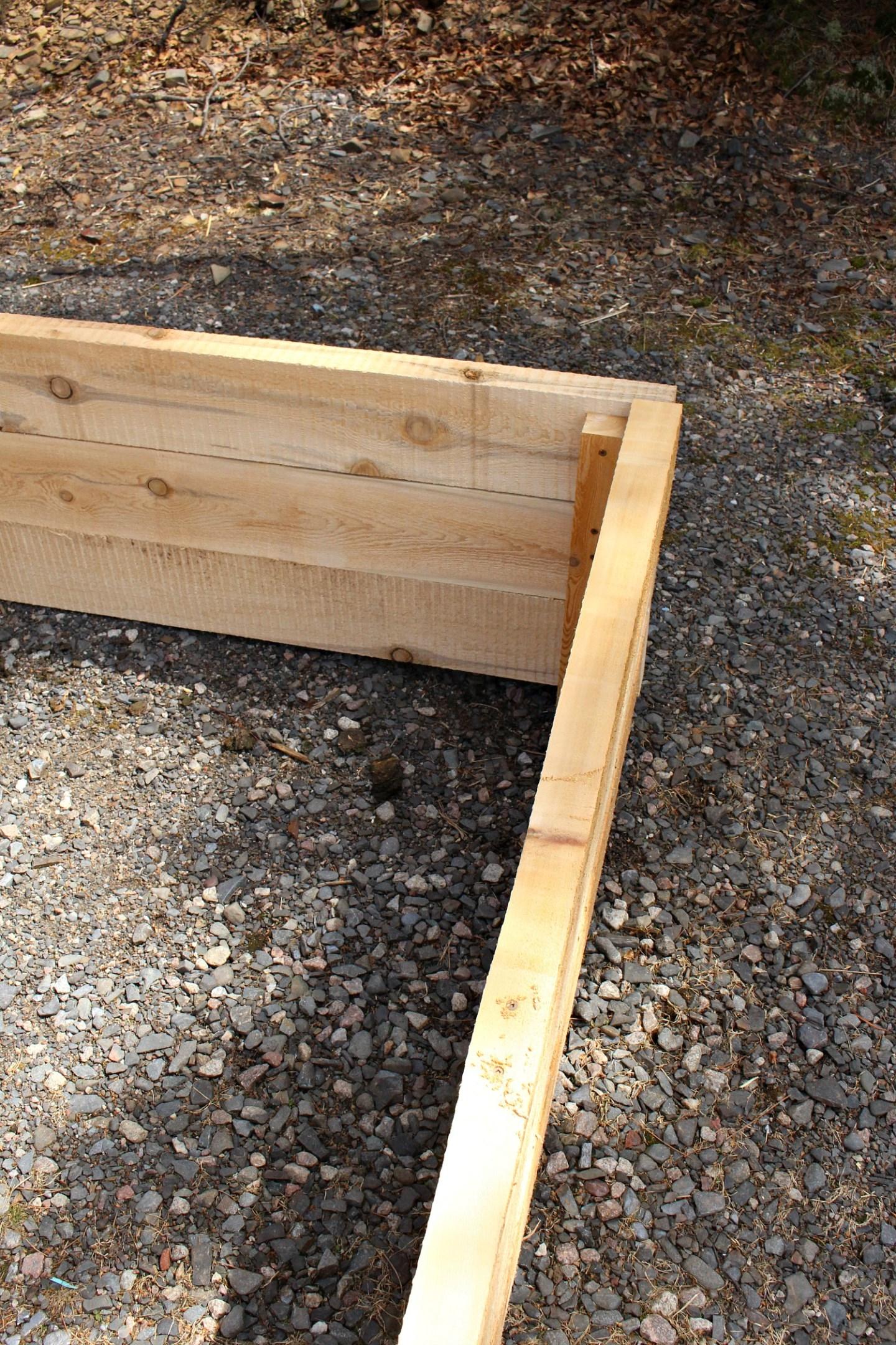 How to Make Garden Boxes
