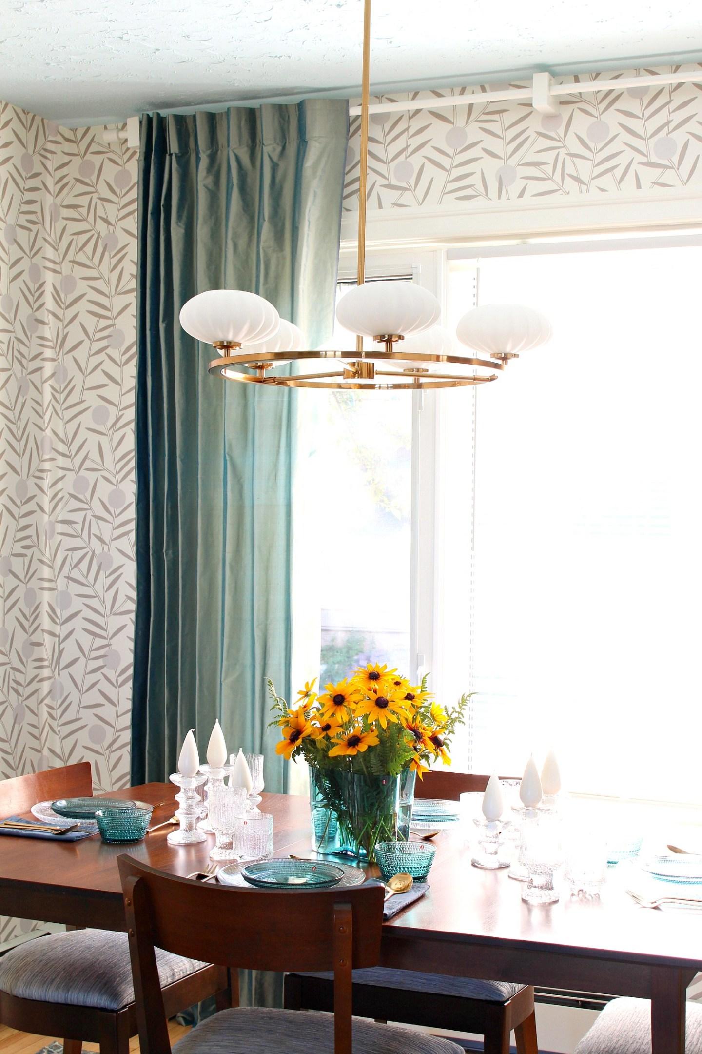 Kichler MCM Style Dining Room Light
