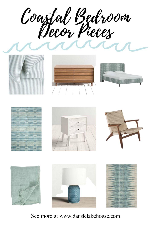 Coastal Bedroom Decor Pieces