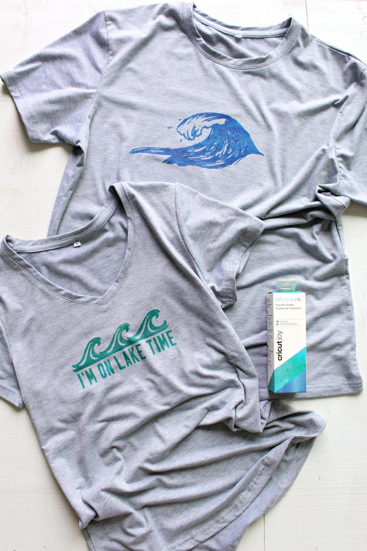Cricut Joy infusible Ink T-Shirts