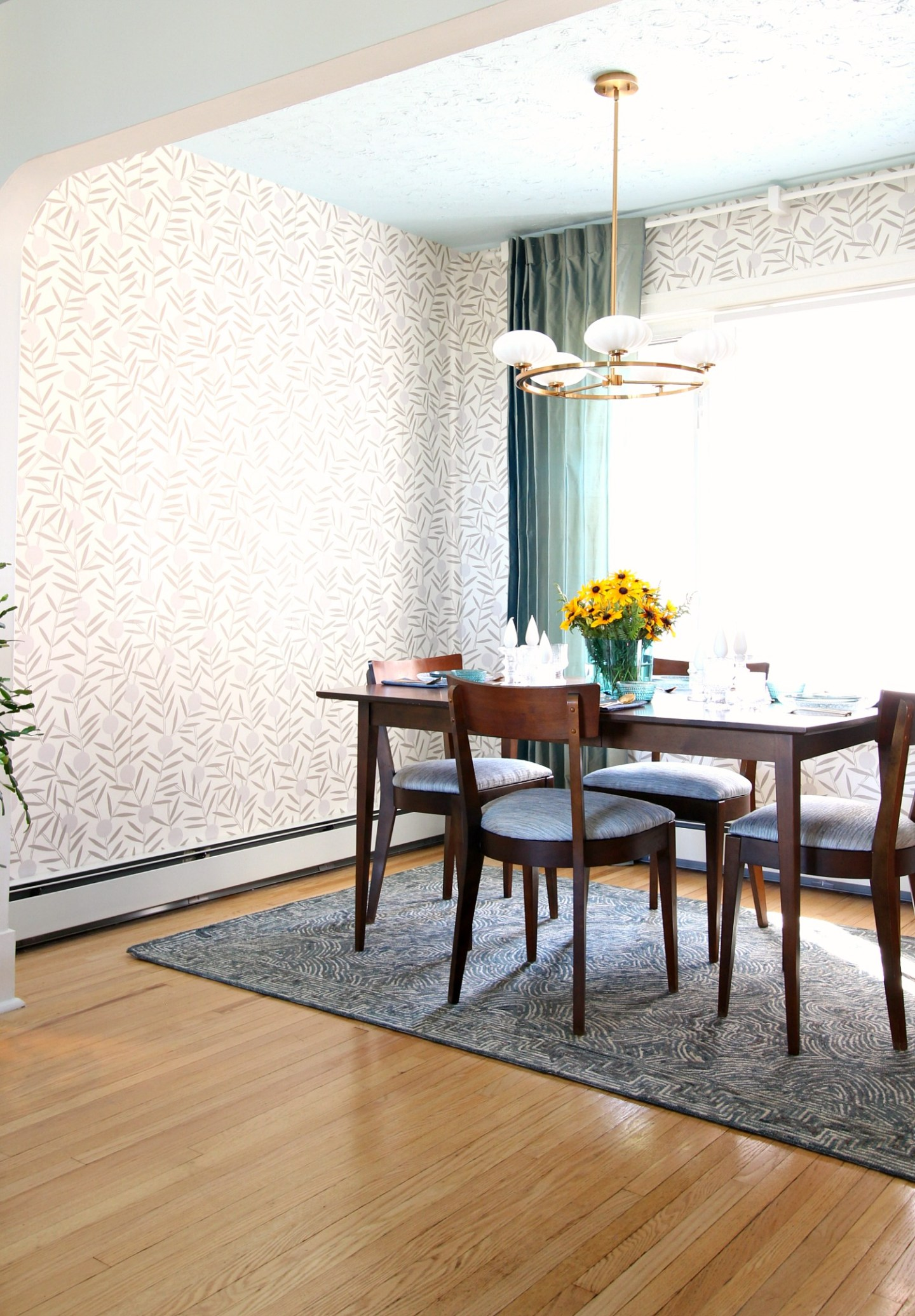 How to Hang Hygge & West Wallpaper (Non-Pasted Wallpaper Installation DIY)