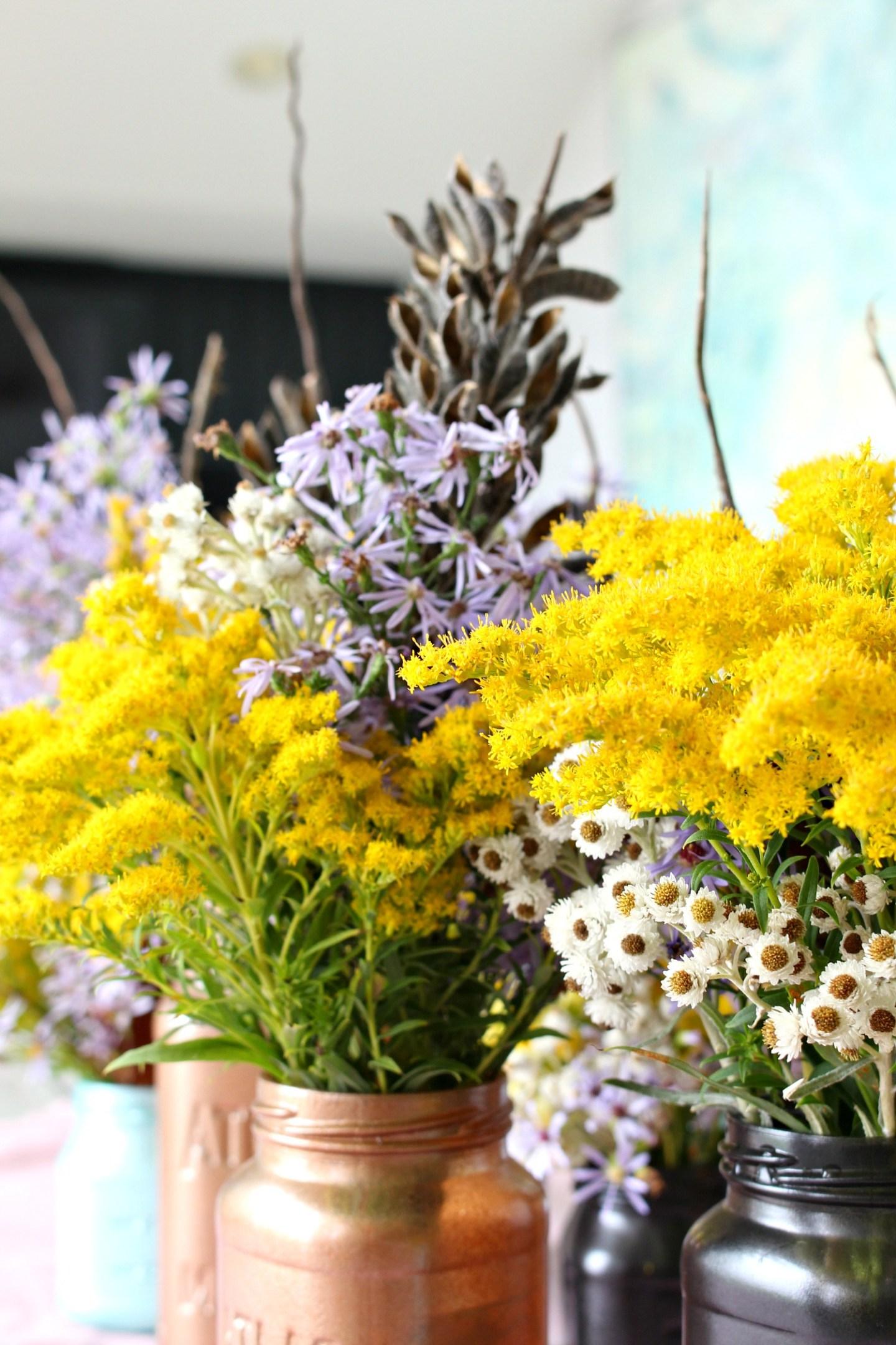 Wild Flower Centerpiece