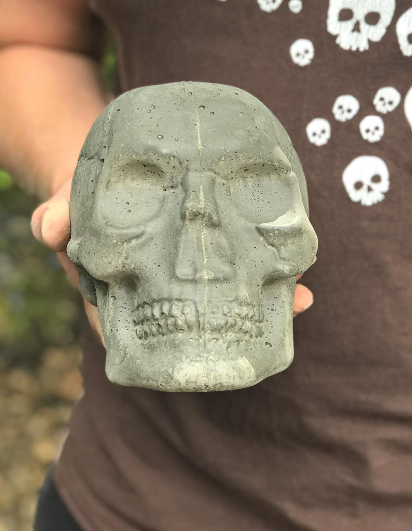 Concrete Skull Tutorial