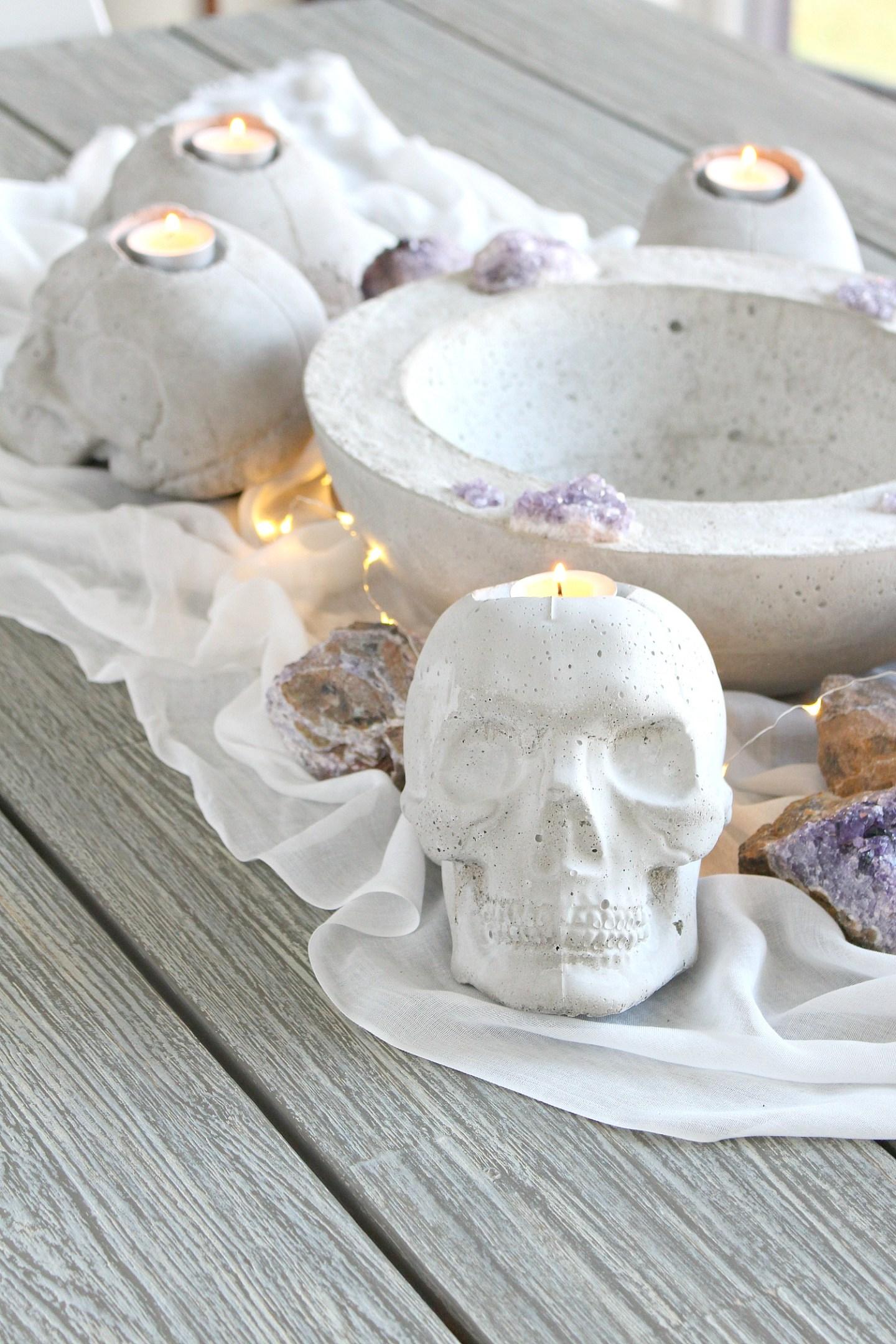 Elegant Halloween Decor DIY Ideas