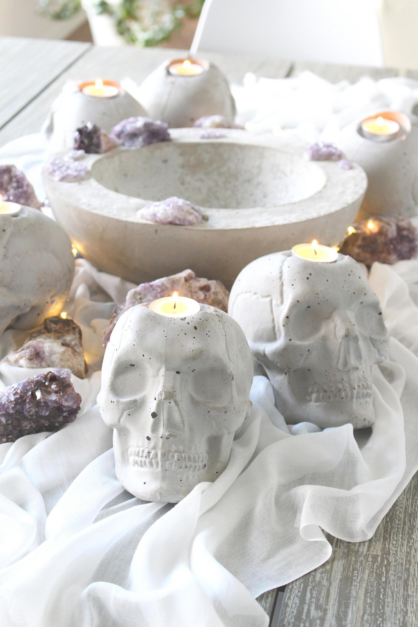 How to Make Concrete Skulls