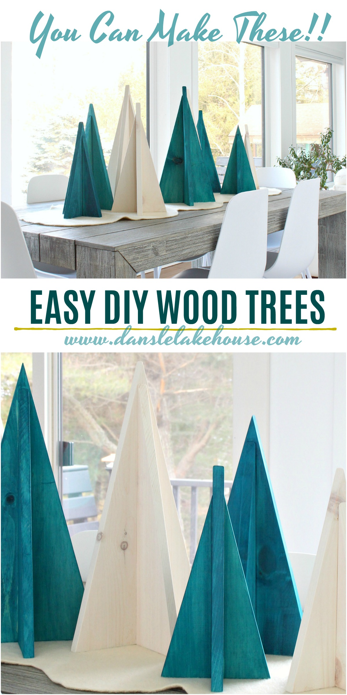 Learn How to Make These Easy DIY Wood Trees