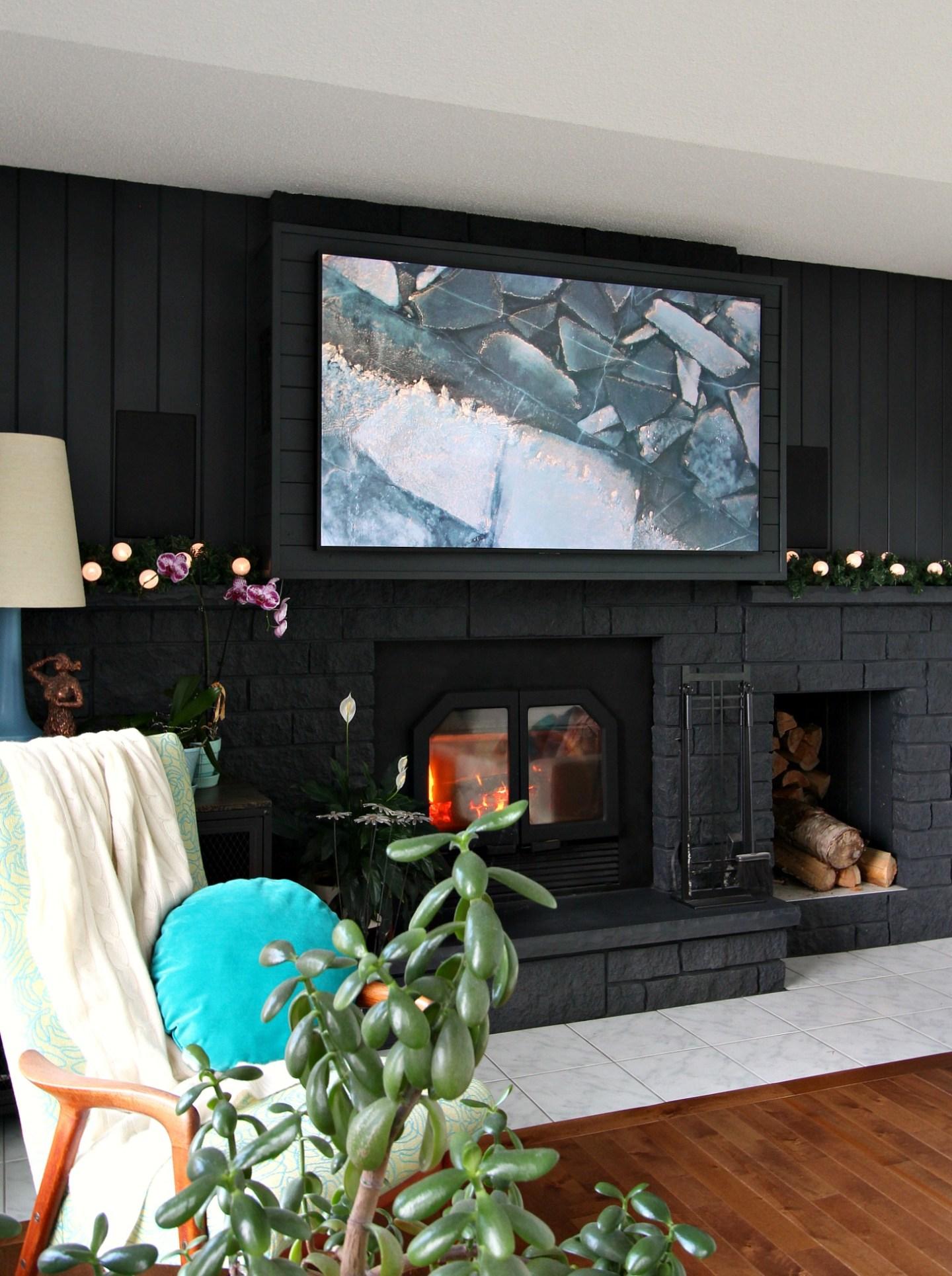 Samsung Frame TV Art for Winter