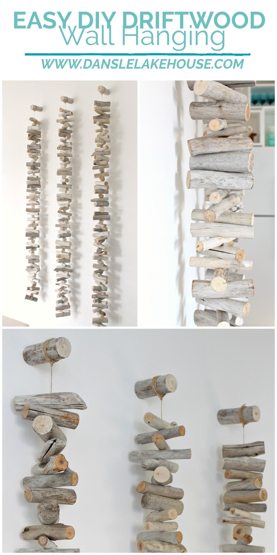Easy DIY Driftwood Wall Hanging Tutorial