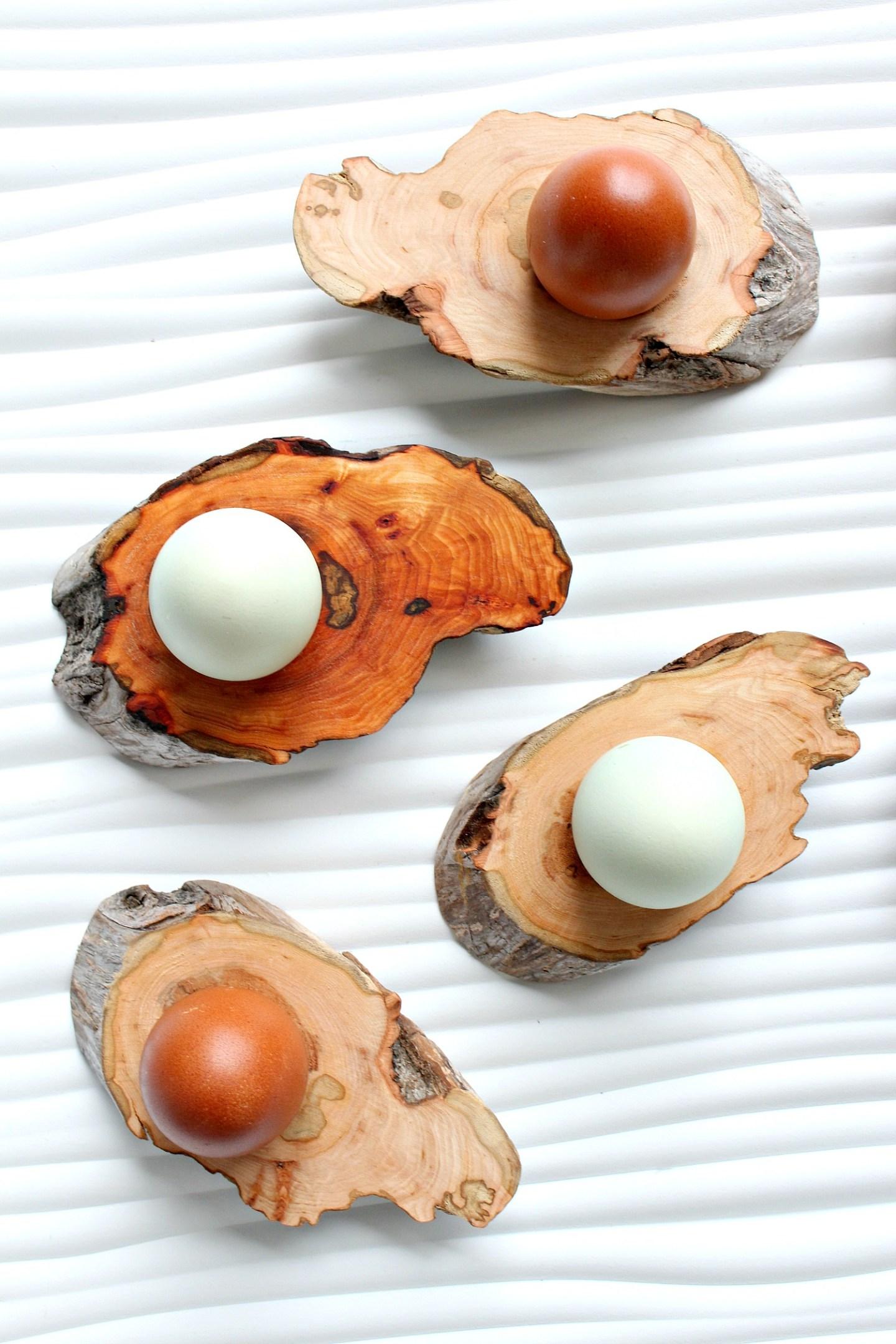 Oiled Driftwood vs. Natural