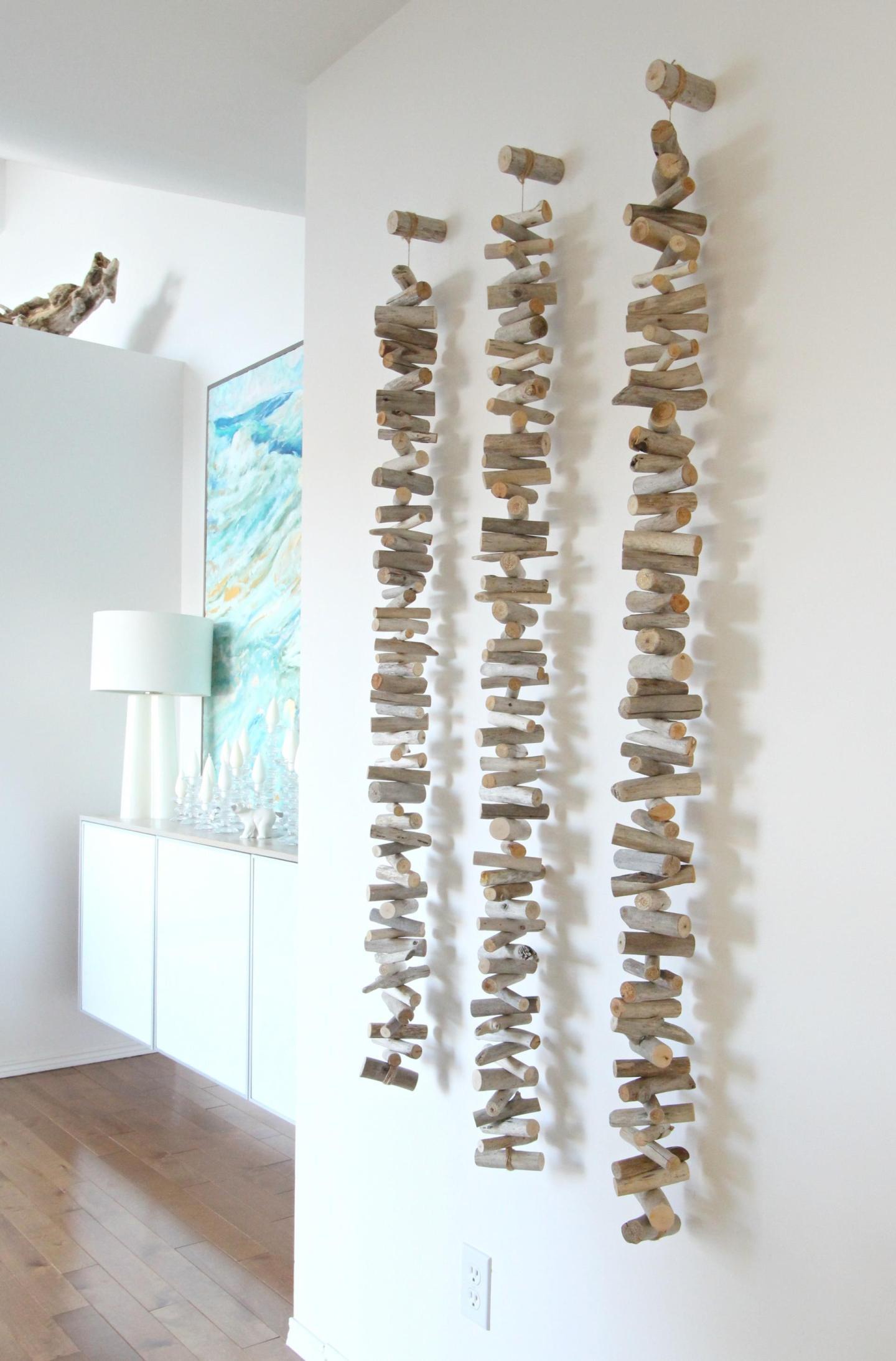 DIY Driftwood Wall Hanging
