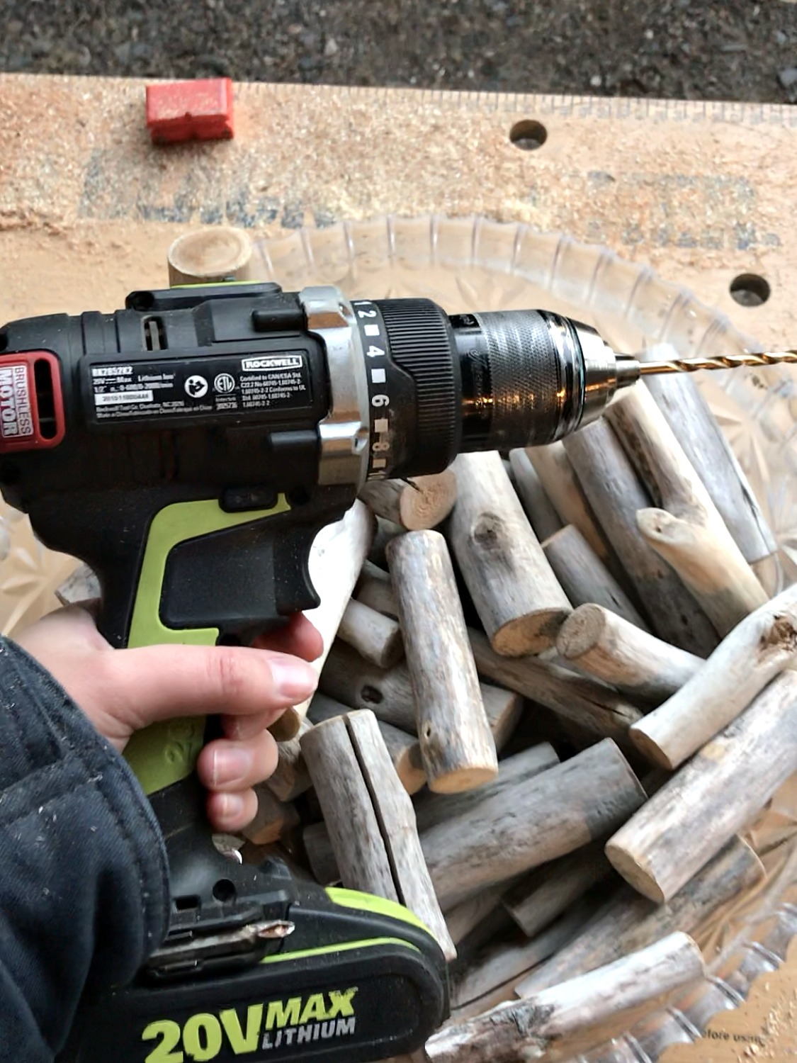 Drilling into Driftwood