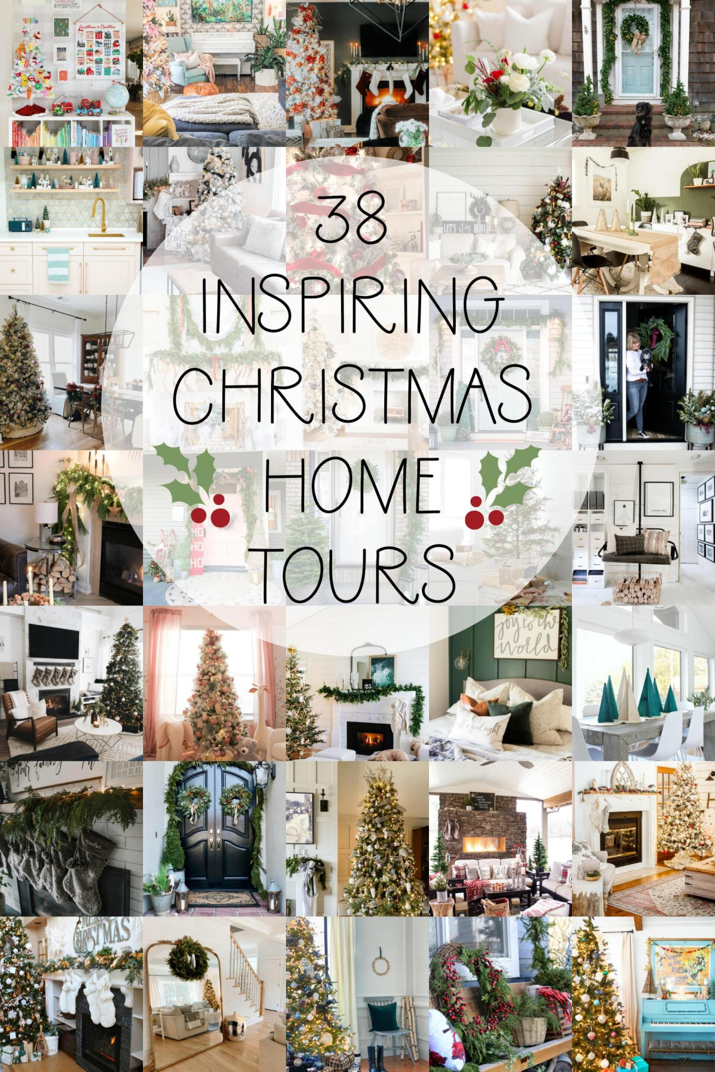 38 Inspiring Christmas Home Tours