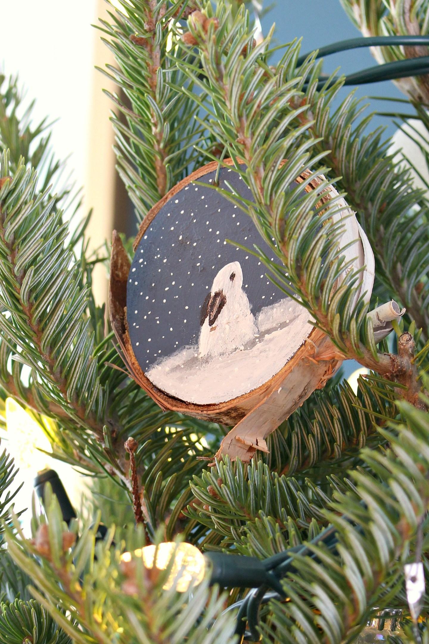 Bunny Themed Tree Ornament