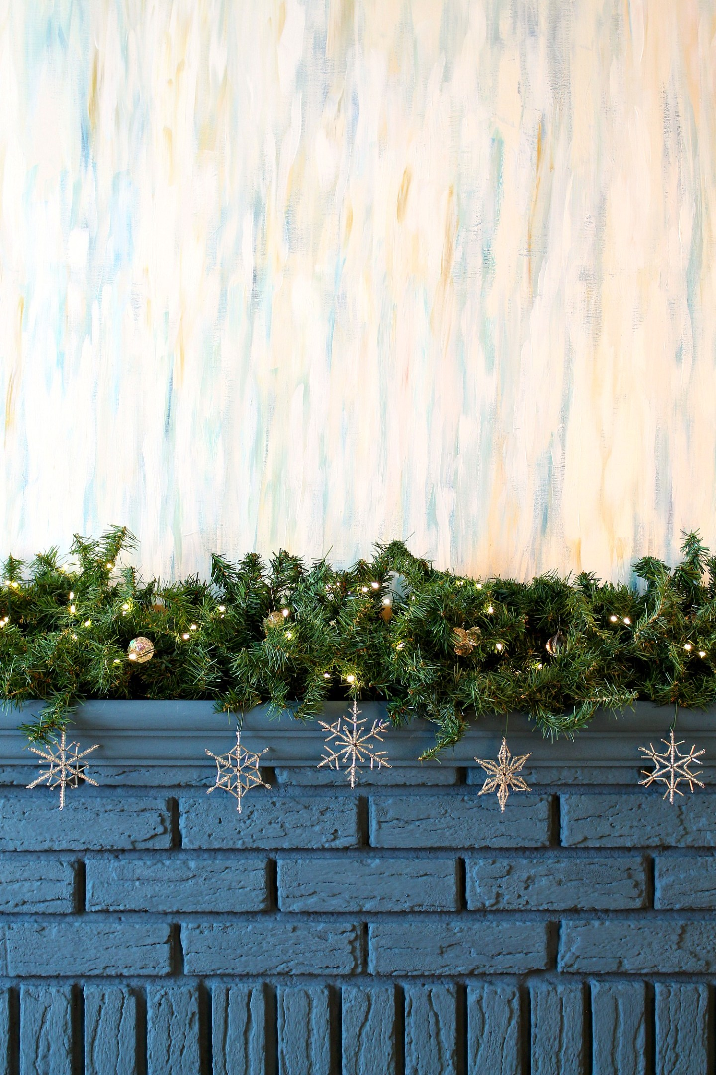How to Make Cheap Dollar Store Garland Look Expensive