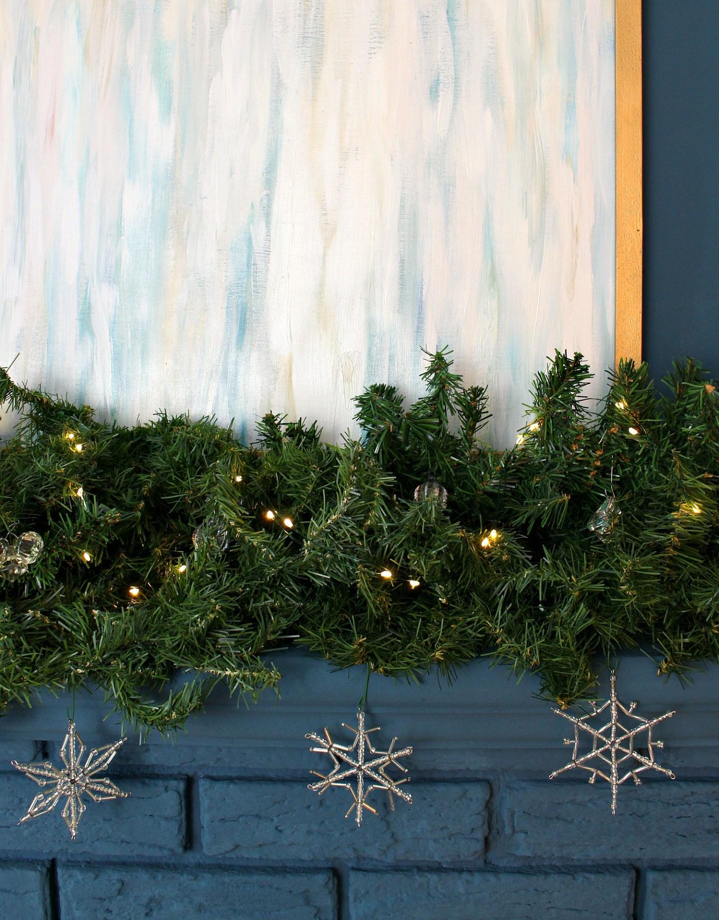 DIY Snowflake Ornaments