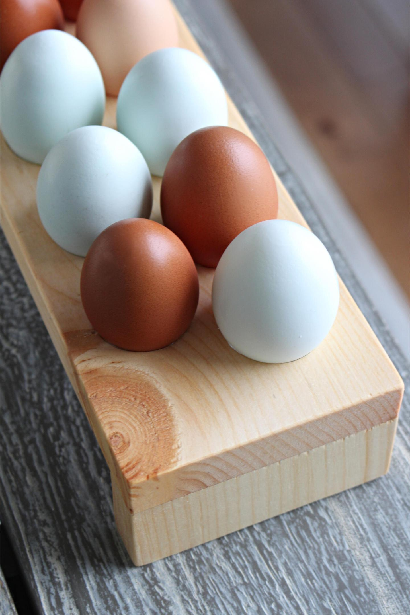 How to make an egg tray
