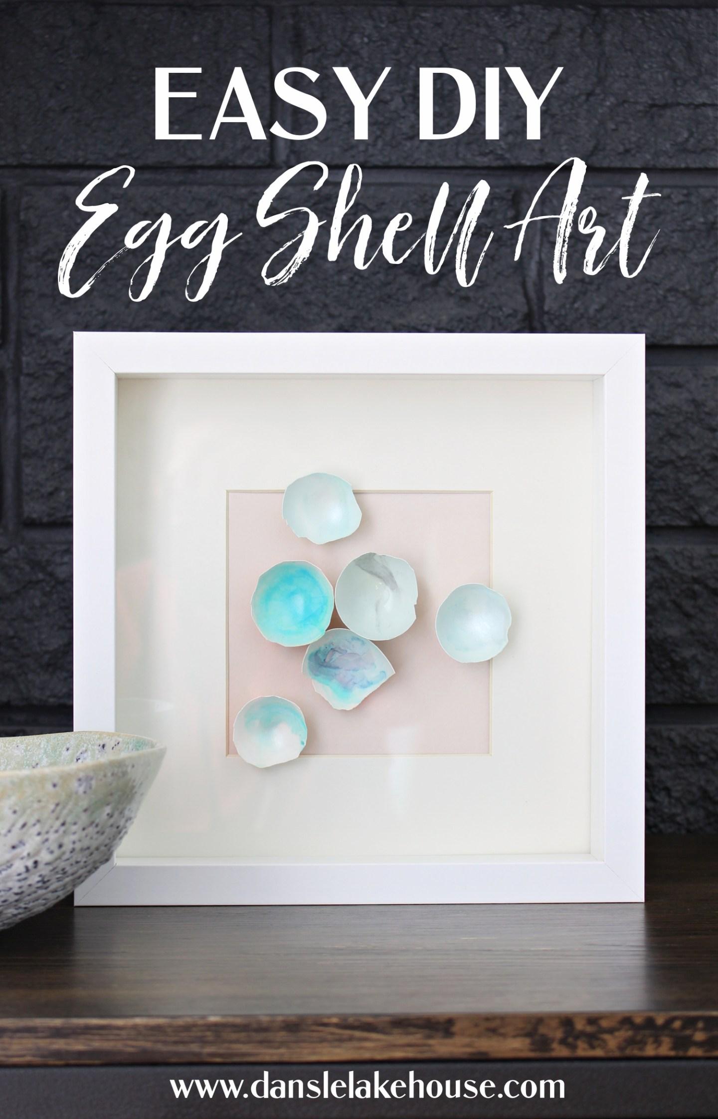 DIY Egg Shell Art