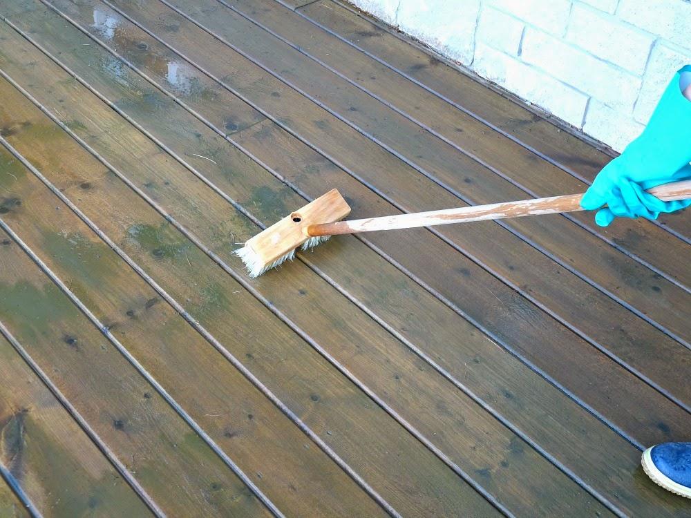 Deck With No Gaps Between Boards