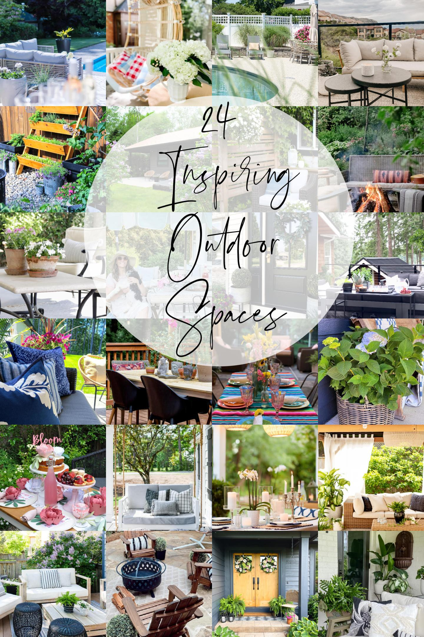 24 Inspiring Outdoor Spaces Tour