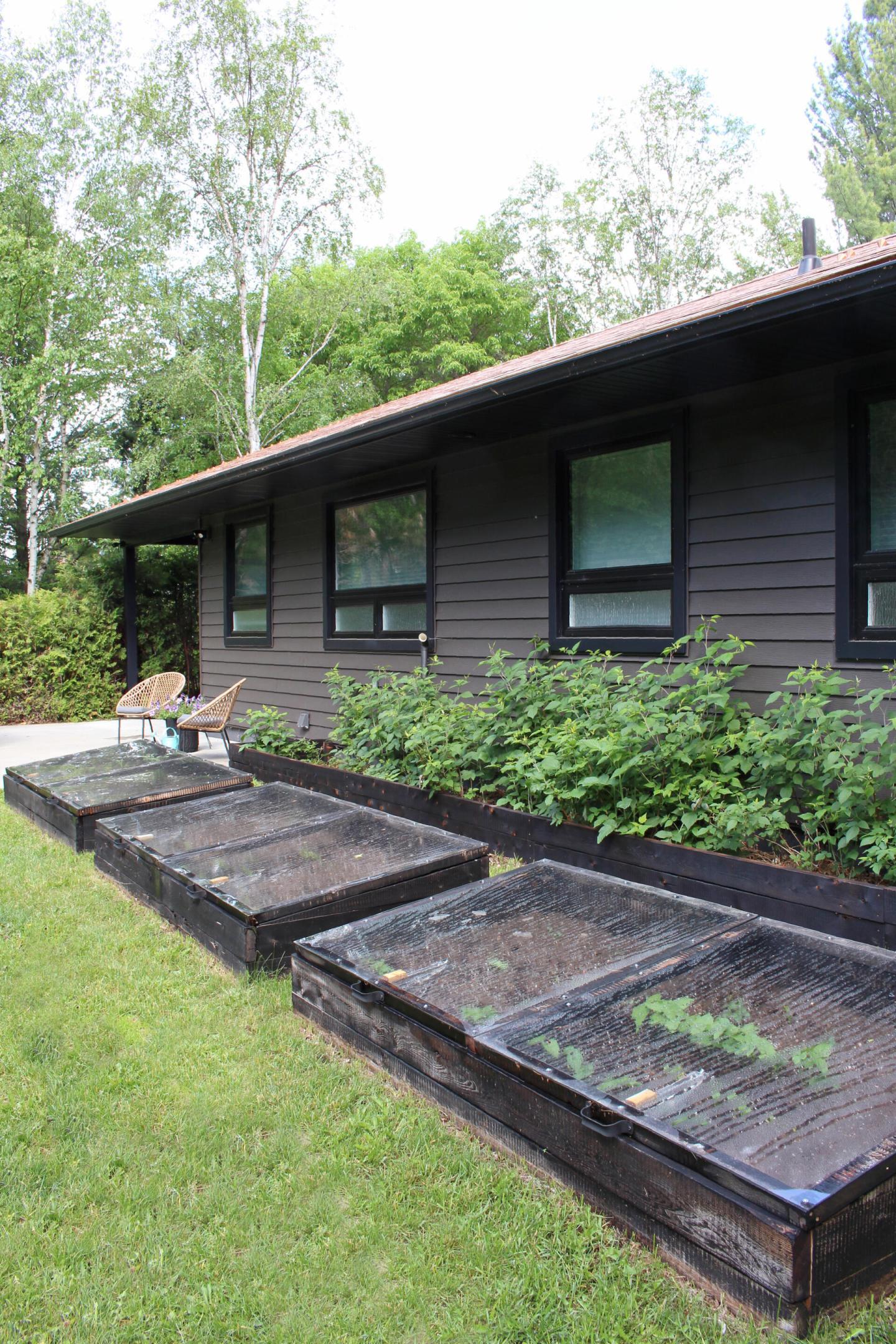 DIY Cold Frame Garden Beds