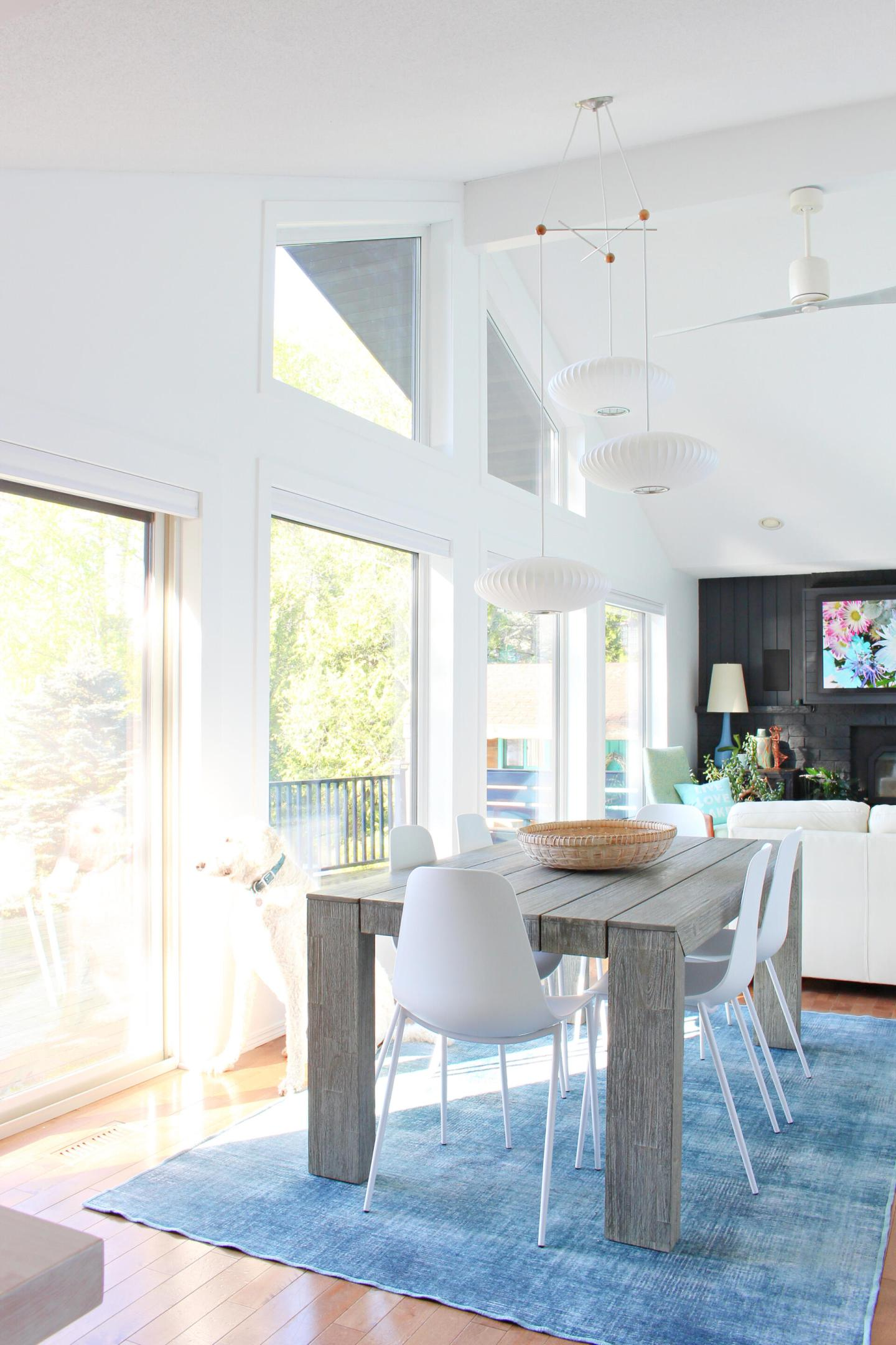 Lake House Summer Home Tour Dining Room