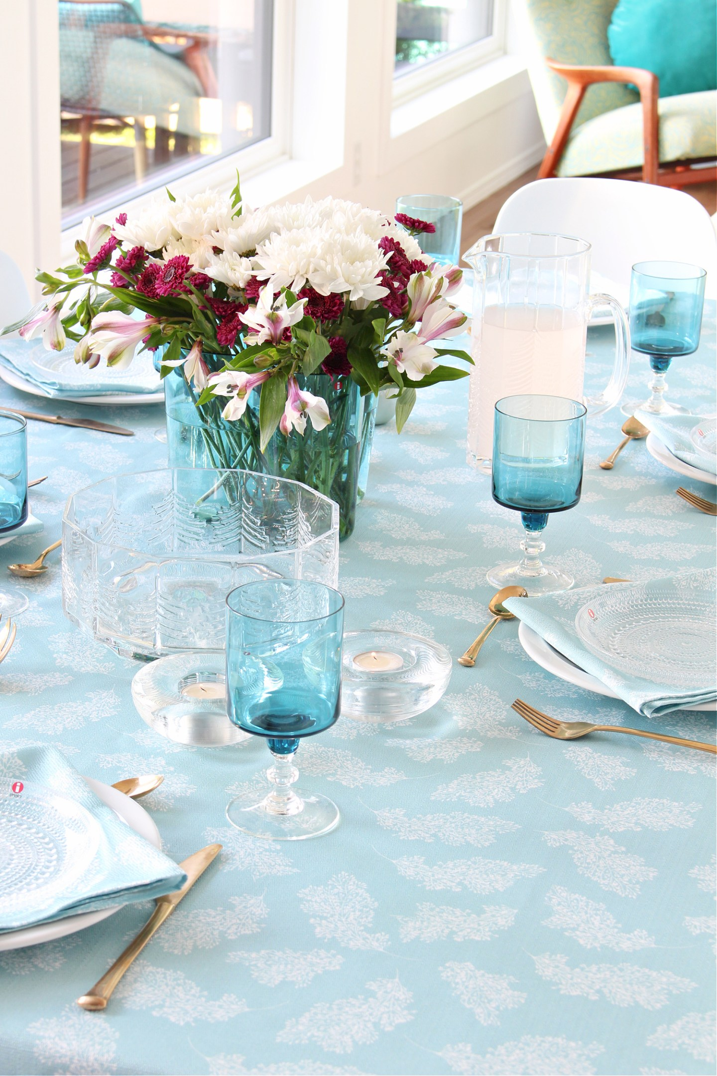 Teal Tablescape Inspiration