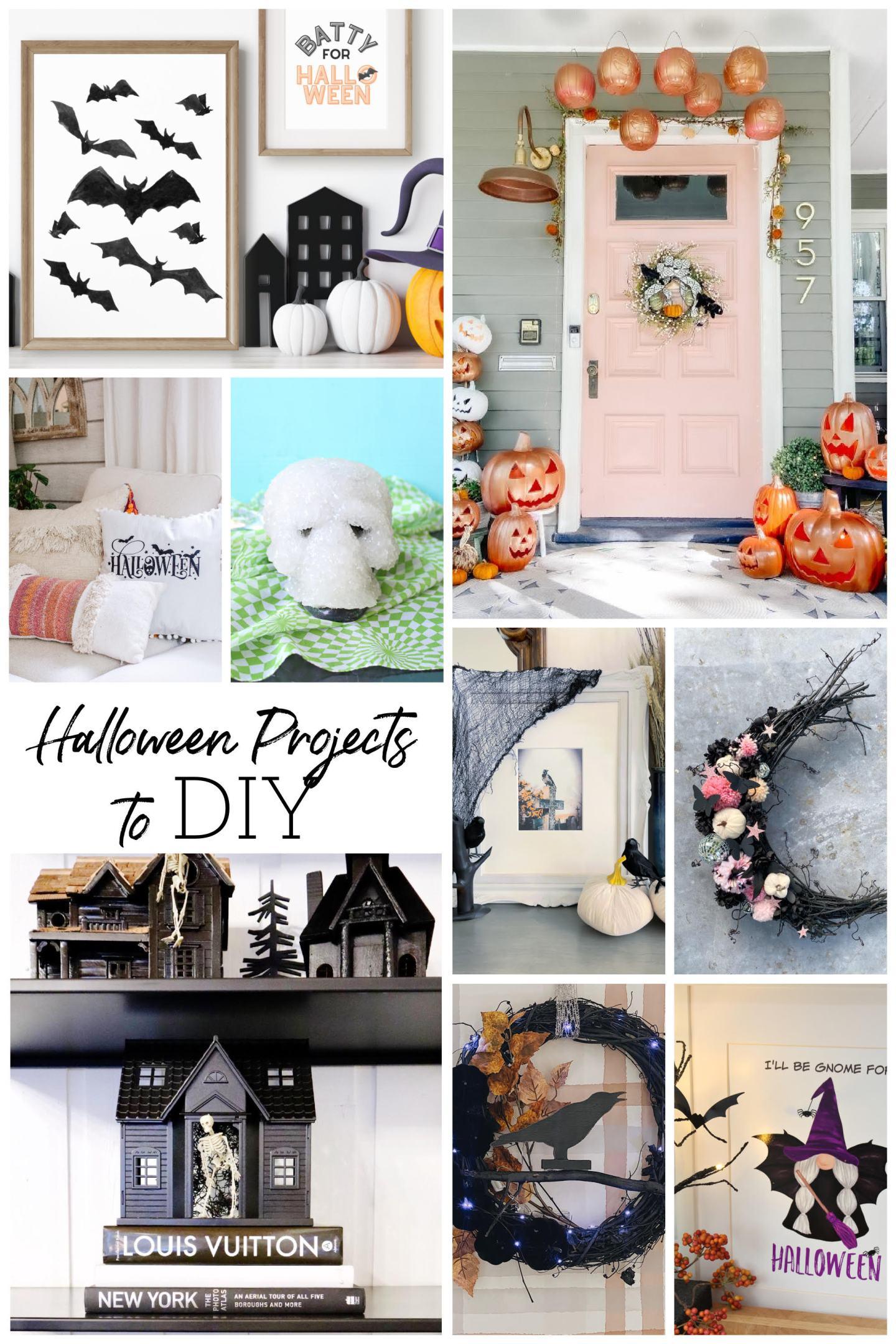 DIY Halloween Decor Ideas