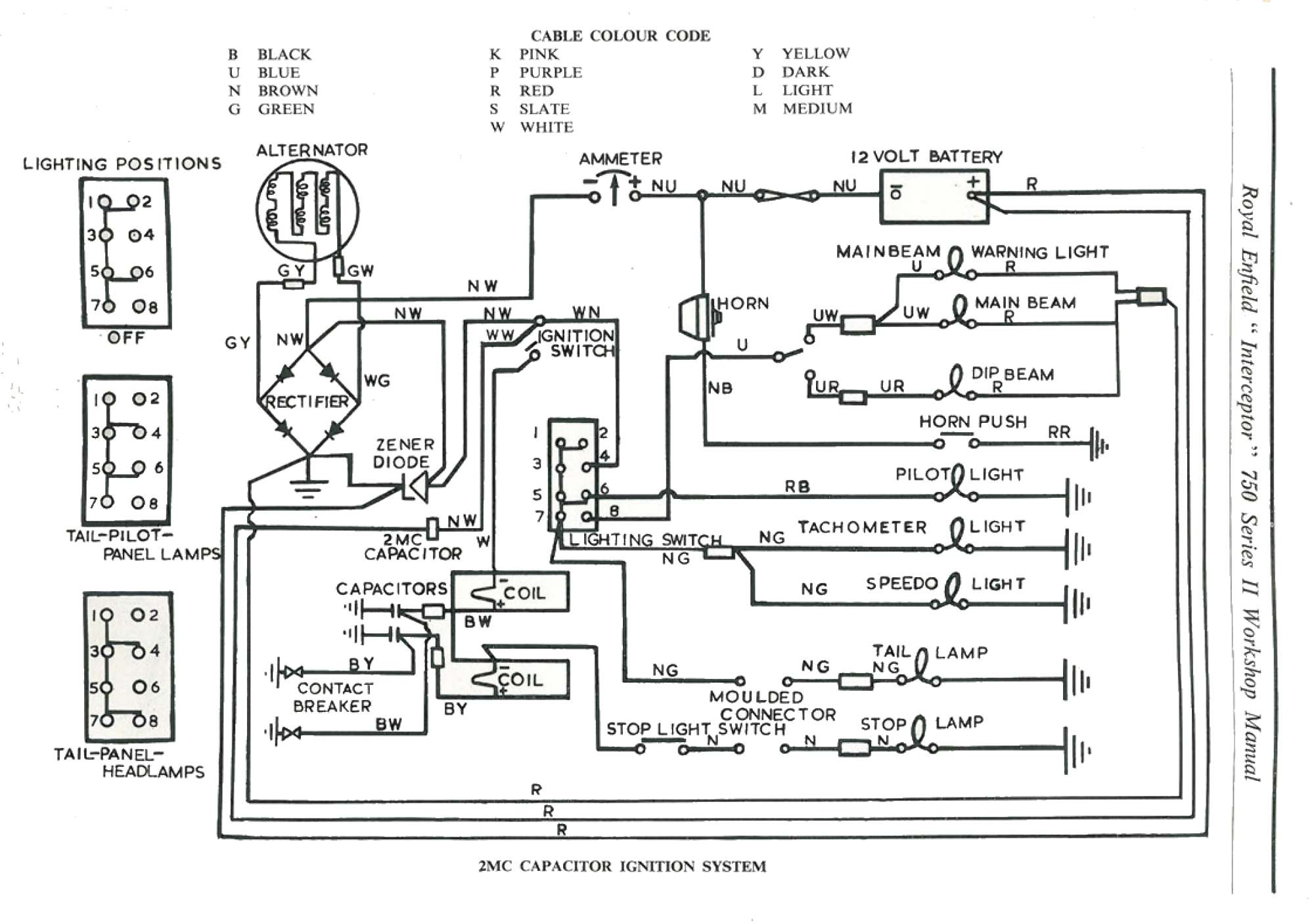 Royal Enfield Electra Wiring Diagram