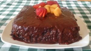 La Recette Du Bon Gâteau Renversé Au Chocolat Dans Notre Maison