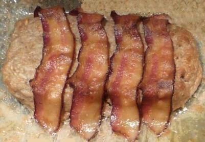 Pain de viande porc pomme poire - cuisson