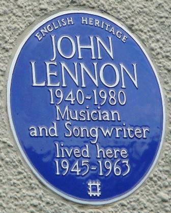 John Lennon - residence Liverpool